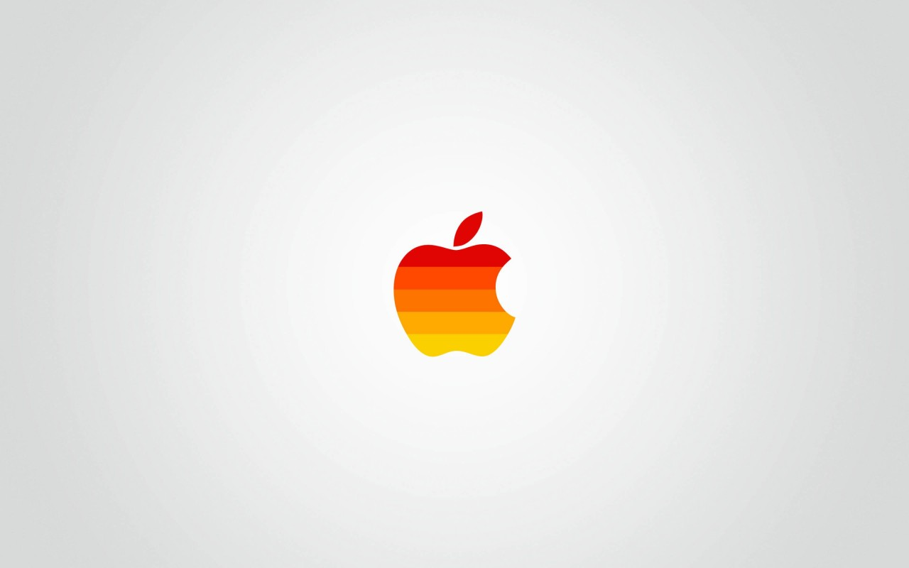 Clear Apple Wallpaper for Desktop 1280x800