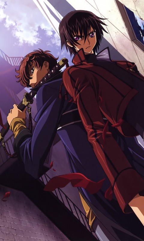 Code Geass Wallpaper for HTC Desire HD