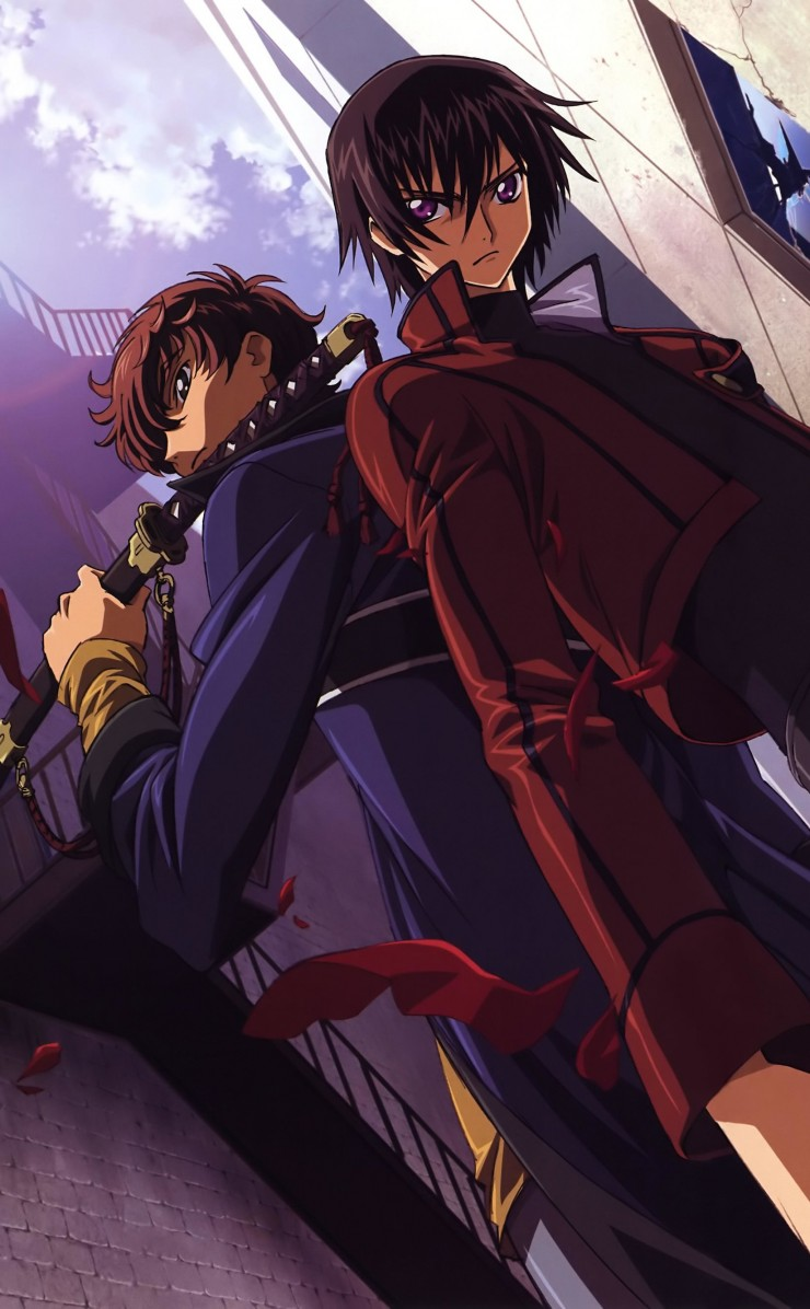 Code Geass Wallpaper for Apple iPhone 4 / 4s