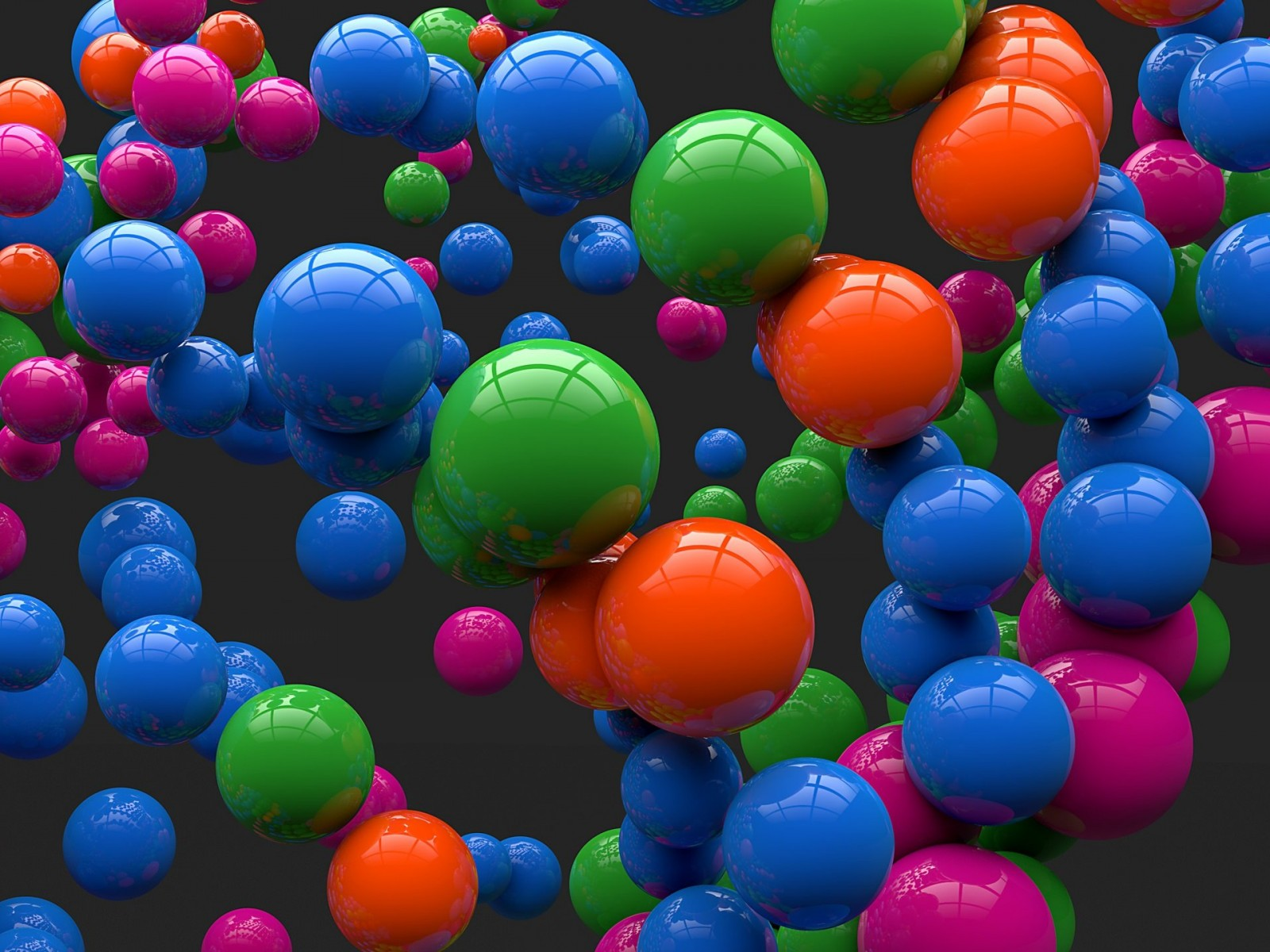 Colorful Balls Wallpaper for Desktop 1600x1200