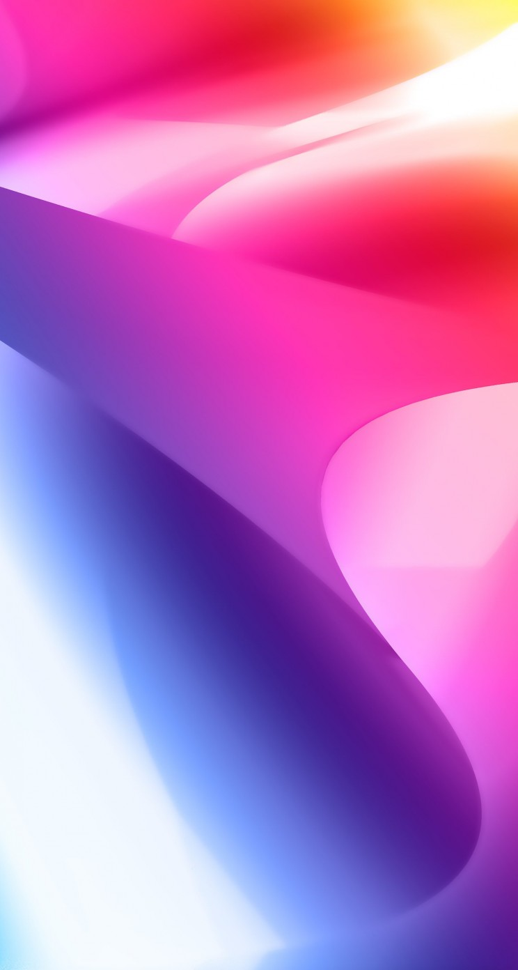 Colorful Smoke Wallpaper for Apple iPhone 5 / 5s