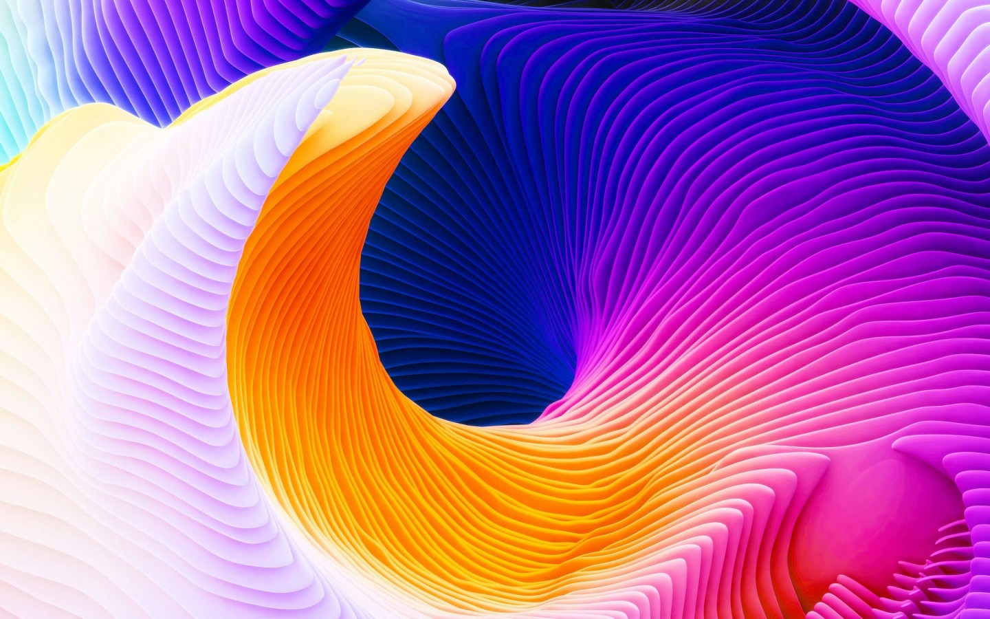 download colorful spiral hd wallpaper for 1440 x 900