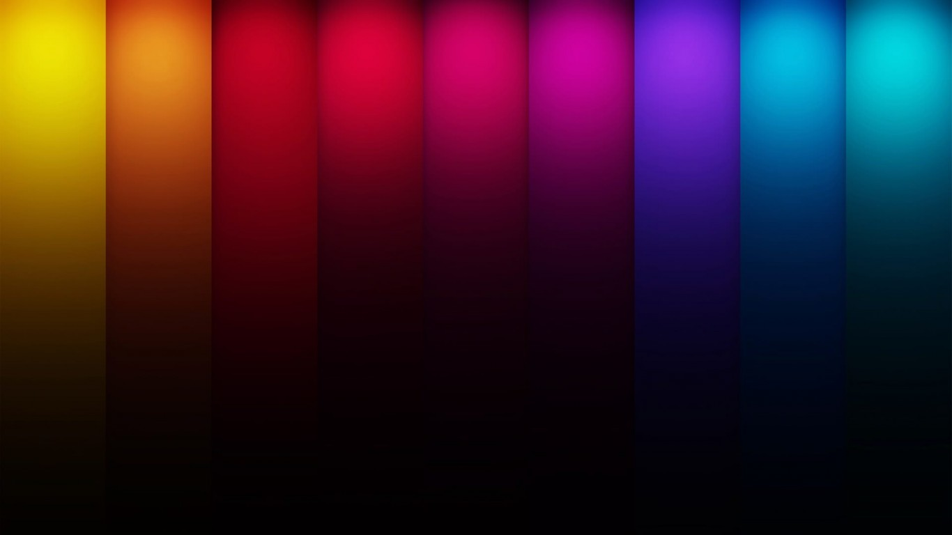 Colorful Stripes Wallpaper for Desktop 1366x768