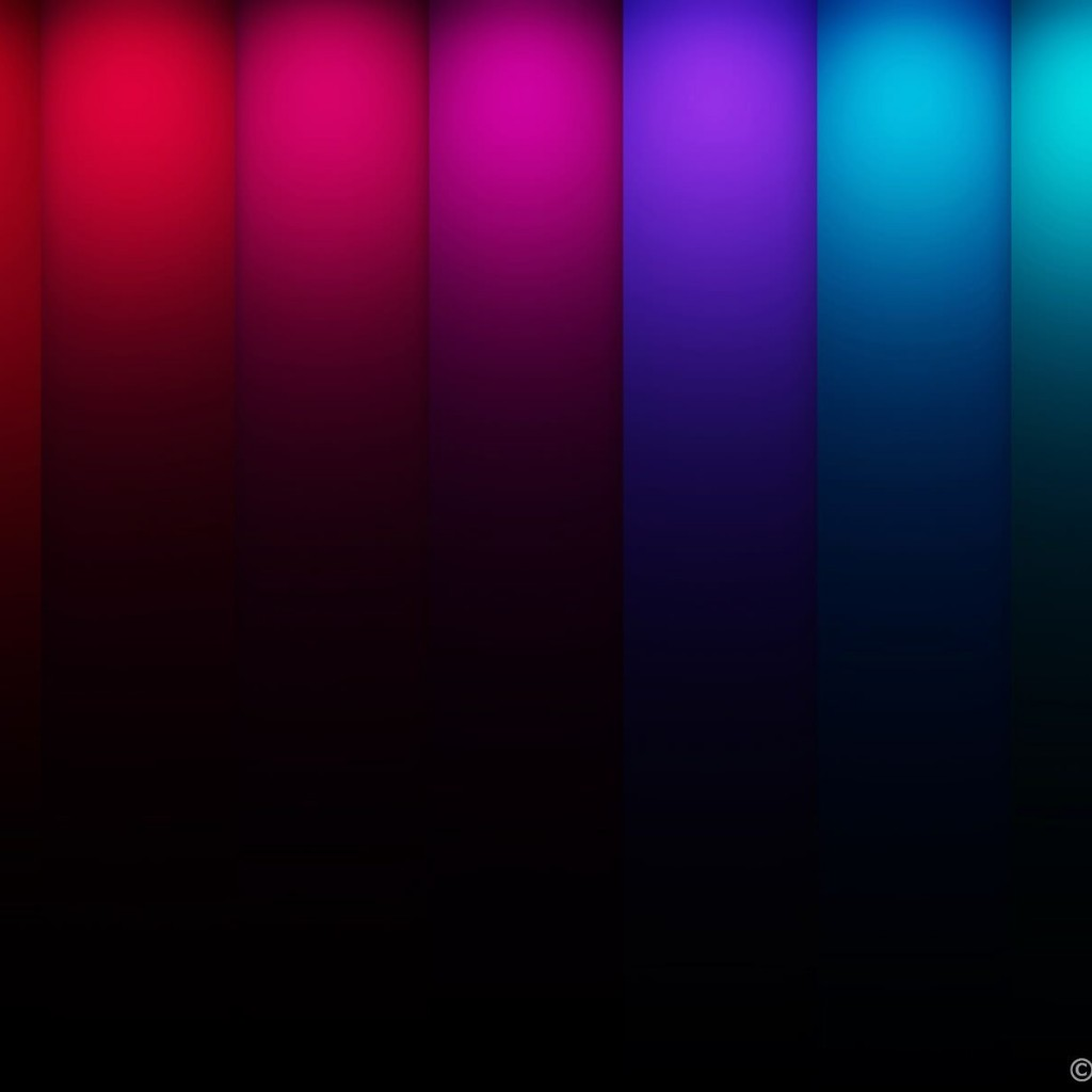 Colorful Stripes Wallpaper for Apple iPad 2