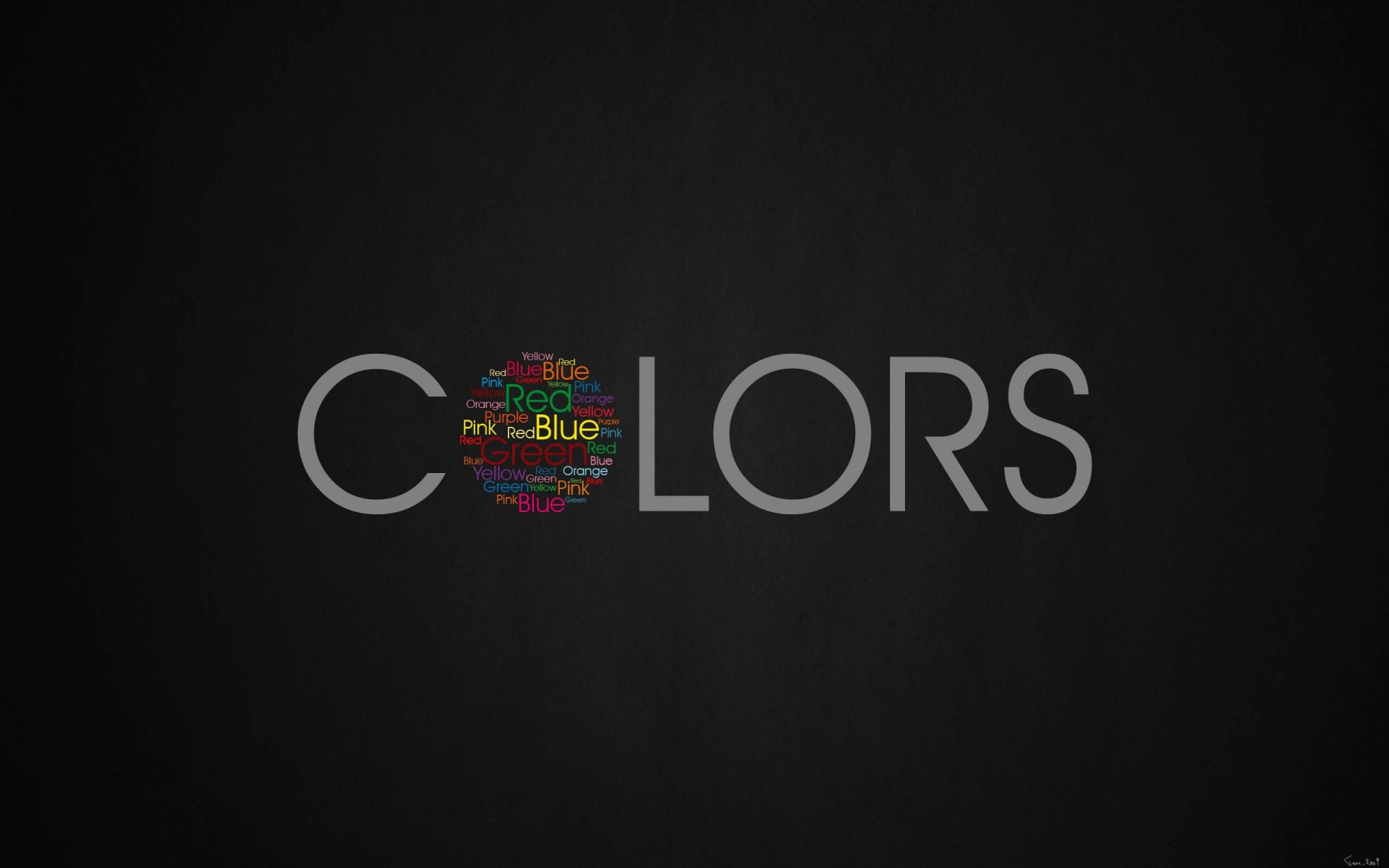 Colors Wallpaper for Desktop 1920x1200