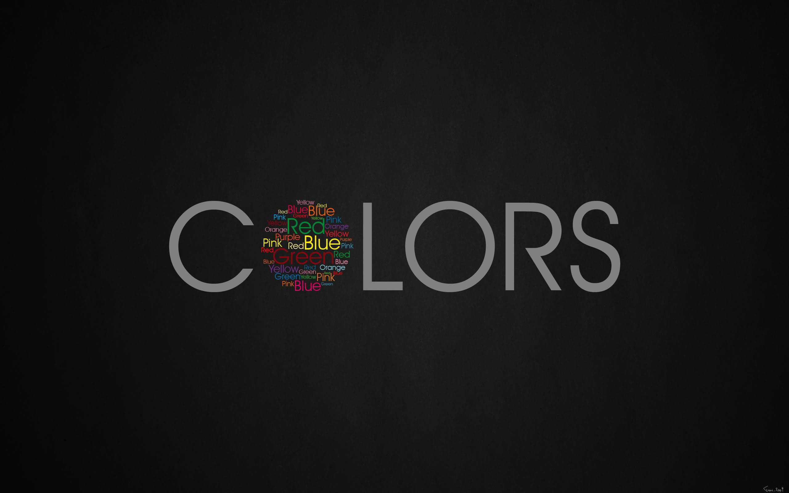 Colors Wallpaper for Desktop 2560x1600