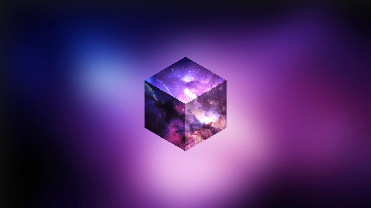 Cosmic Cube Wallpaper for Desktop 1280x720