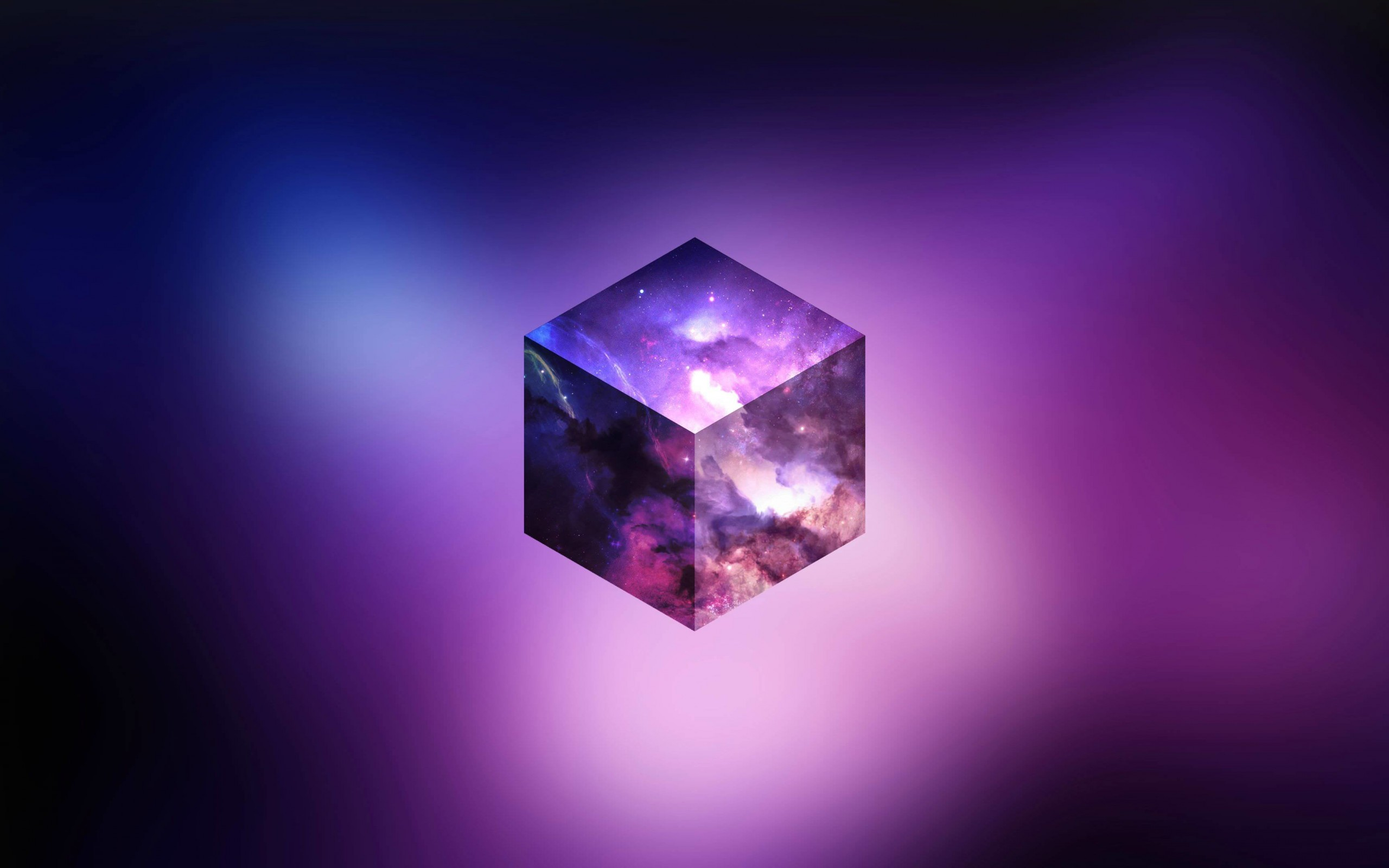 Cosmic Cube Wallpaper for Desktop 2560x1600