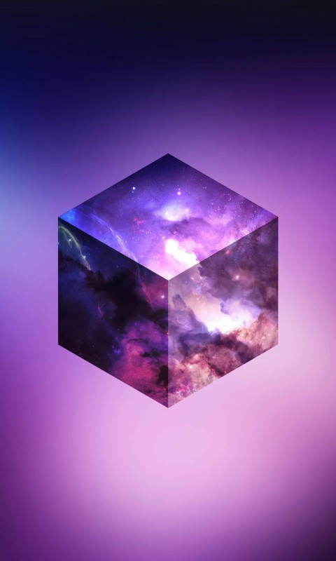 Cosmic Cube Wallpaper for SAMSUNG Galaxy S3 Mini