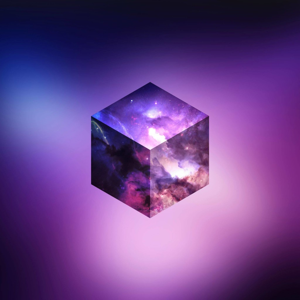 Cosmic Cube Wallpaper for Apple iPad