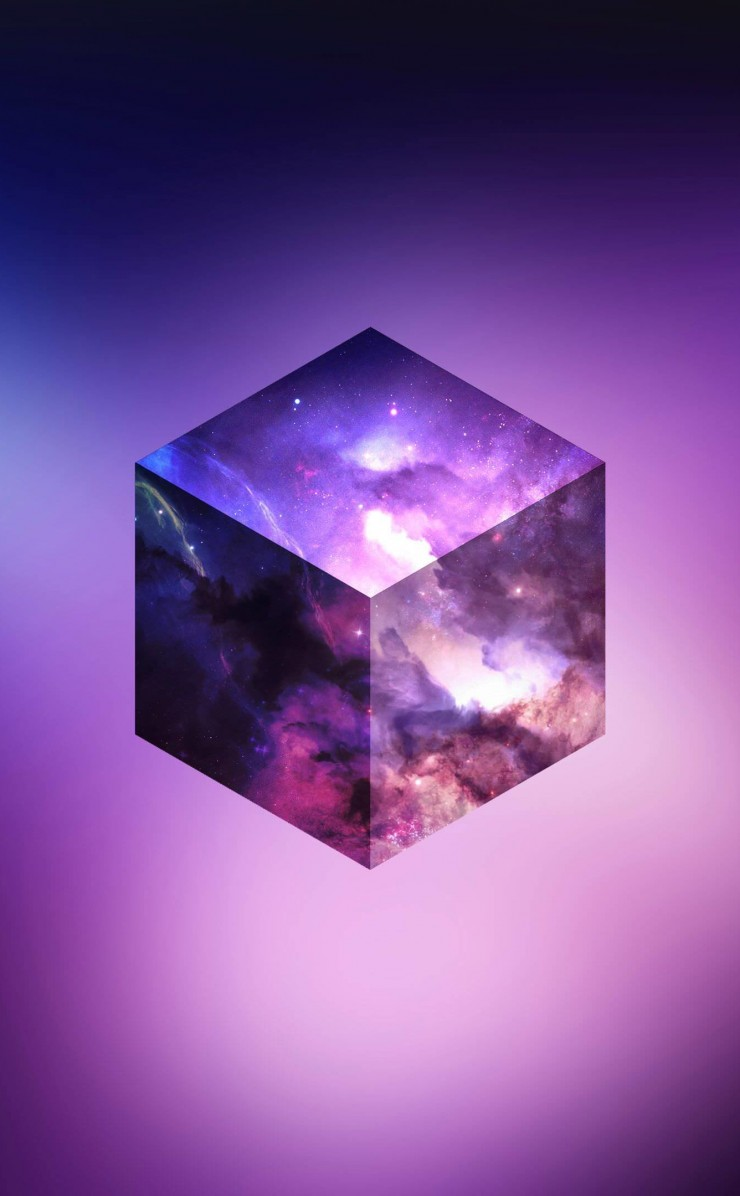 Cosmic Cube Wallpaper for Apple iPhone 4 / 4s