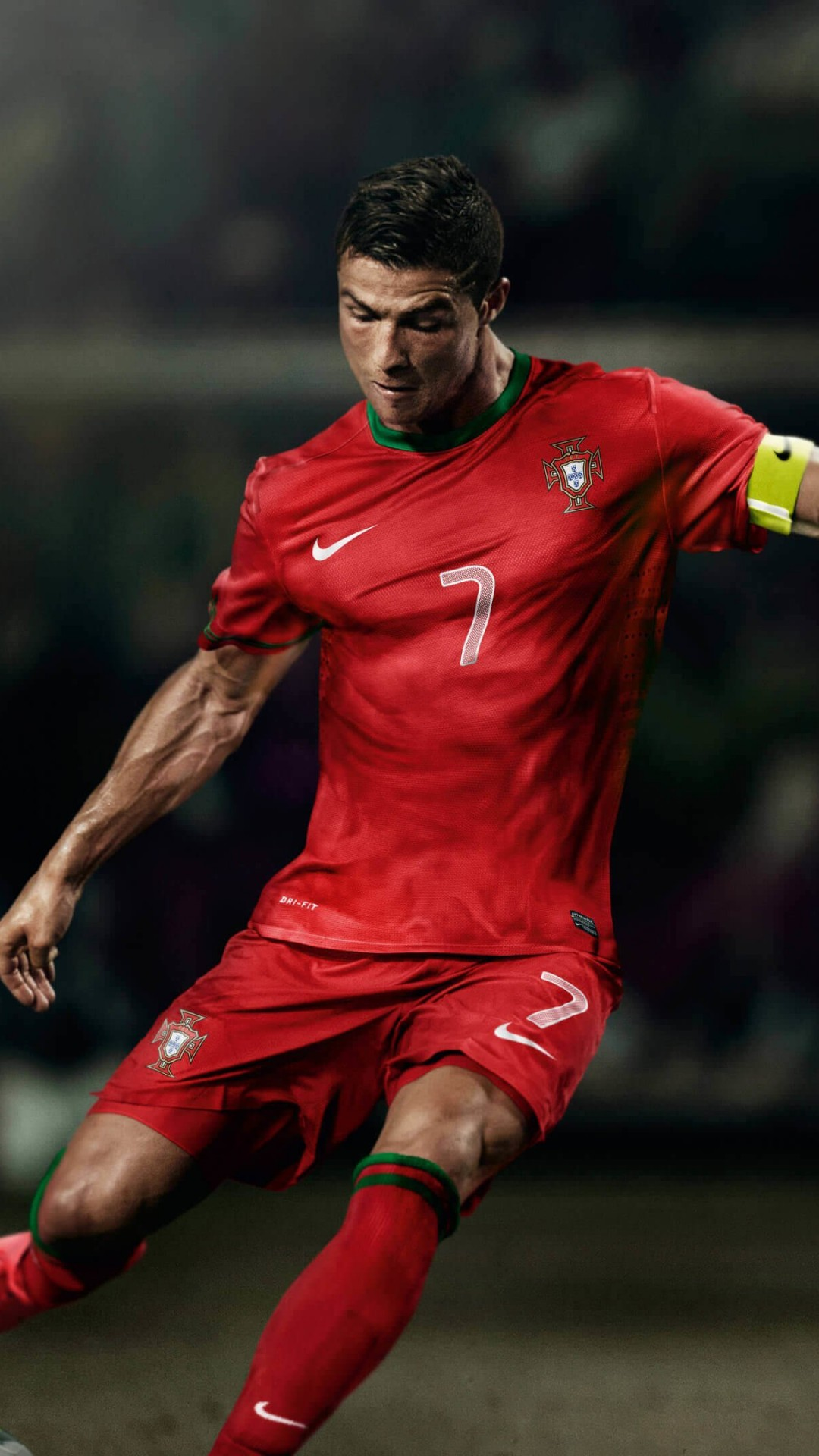 Cristiano Ronaldo In Portugal Jersey Wallpaper for SAMSUNG Galaxy S5