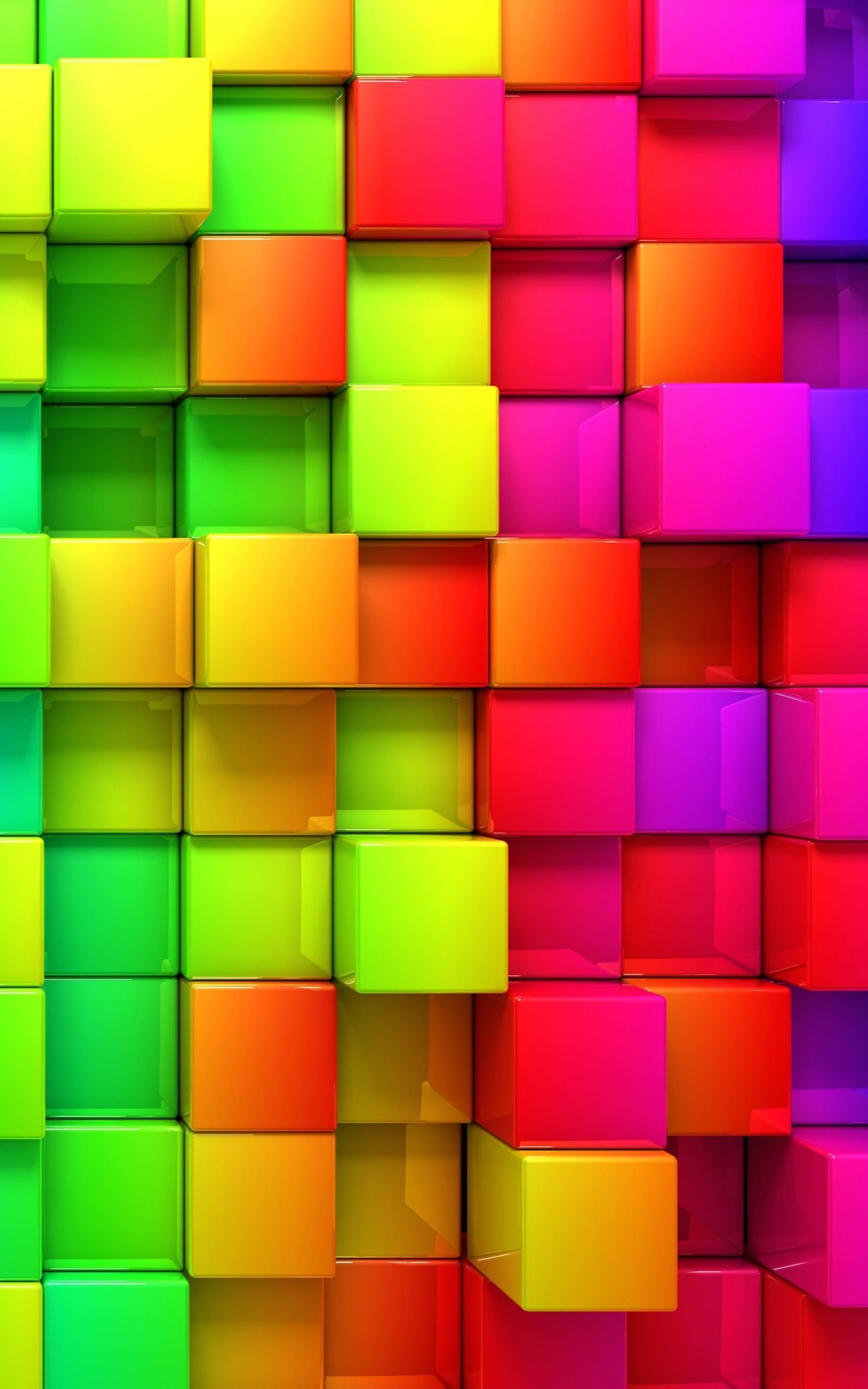 Cubic Rainbow Wallpaper for Amazon Kindle Fire HDX