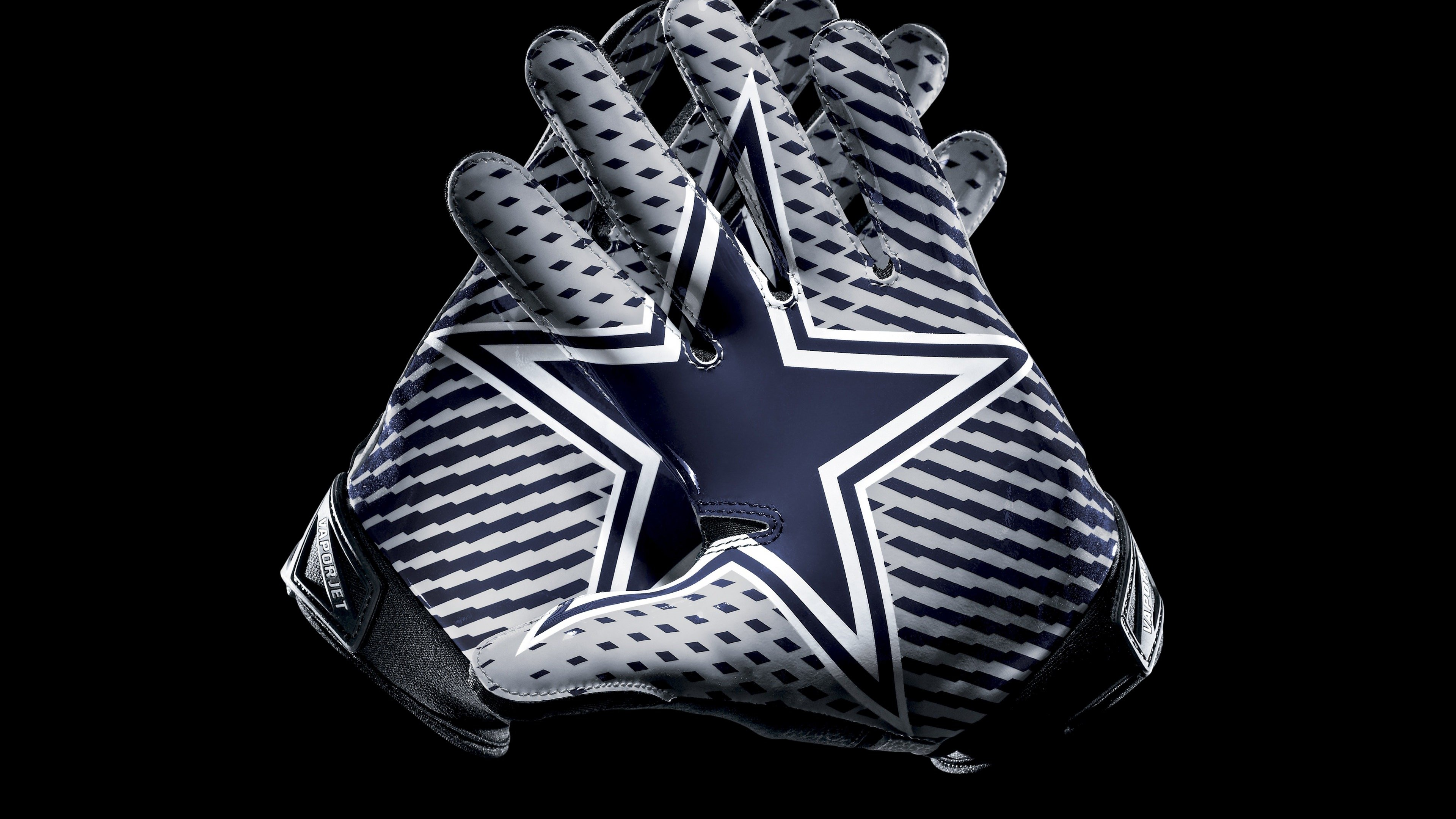 Dallas Cowboys Gloves Wallpaper for Desktop 4K 3840x2160