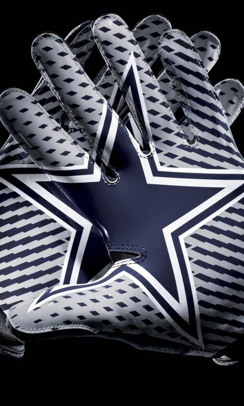 Dallas Cowboys Gloves Wallpaper for HTC Desire HD