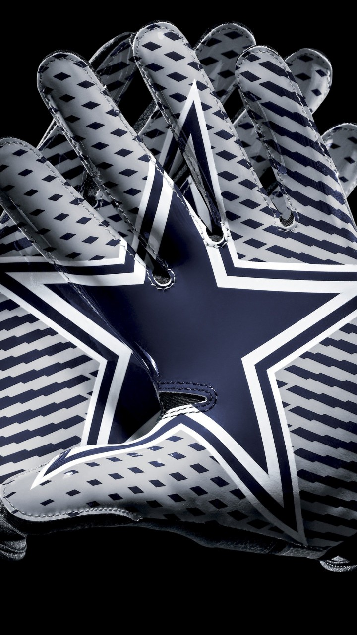 Dallas Cowboys Gloves Wallpaper for HTC One mini