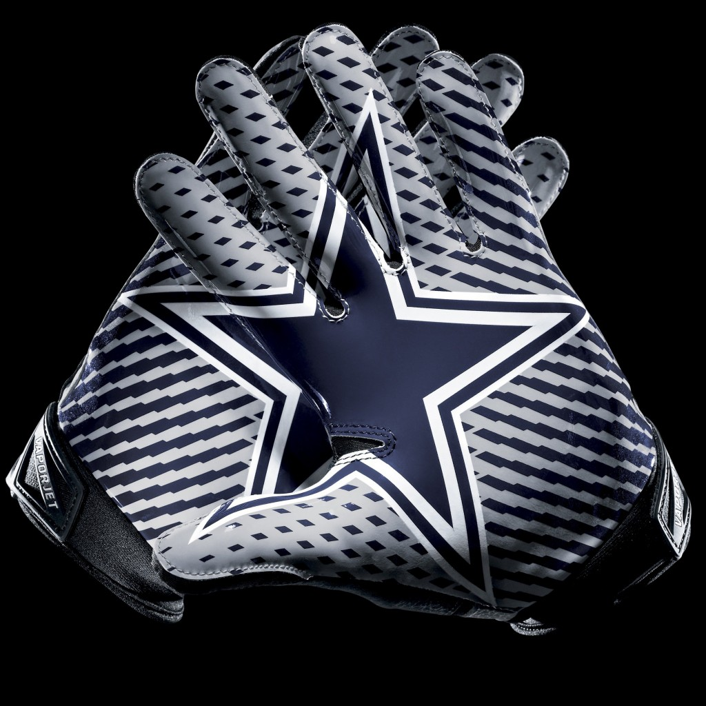 Dallas Cowboys Gloves Wallpaper for Apple iPad 2
