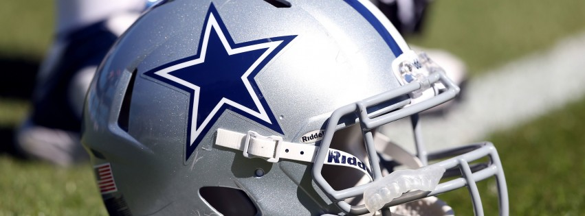 Dallas Cowboys Helmet Wallpaper for Social Media Facebook Cover