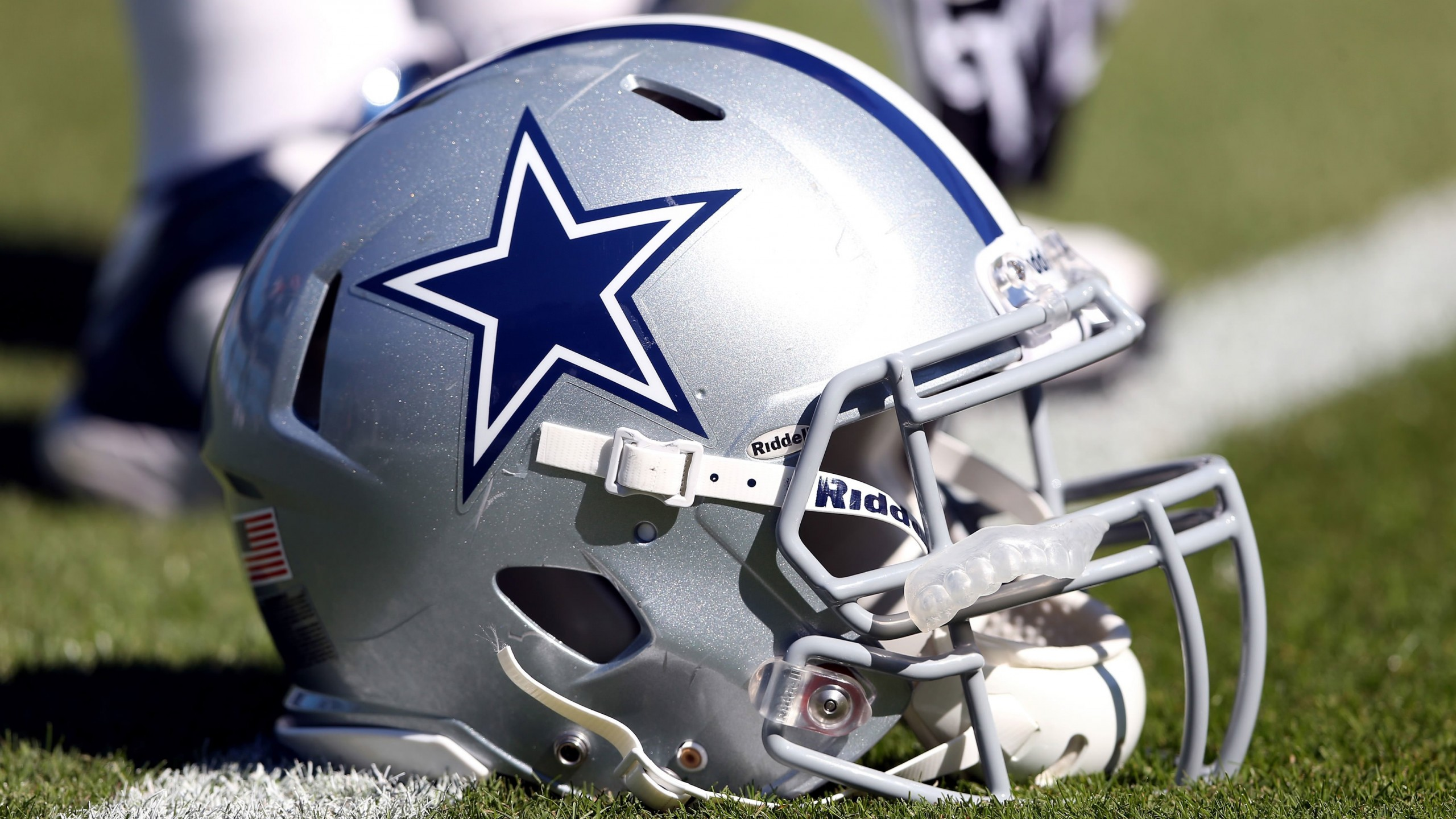 Dallas Cowboys Helmet Wallpaper for Social Media YouTube Channel Art