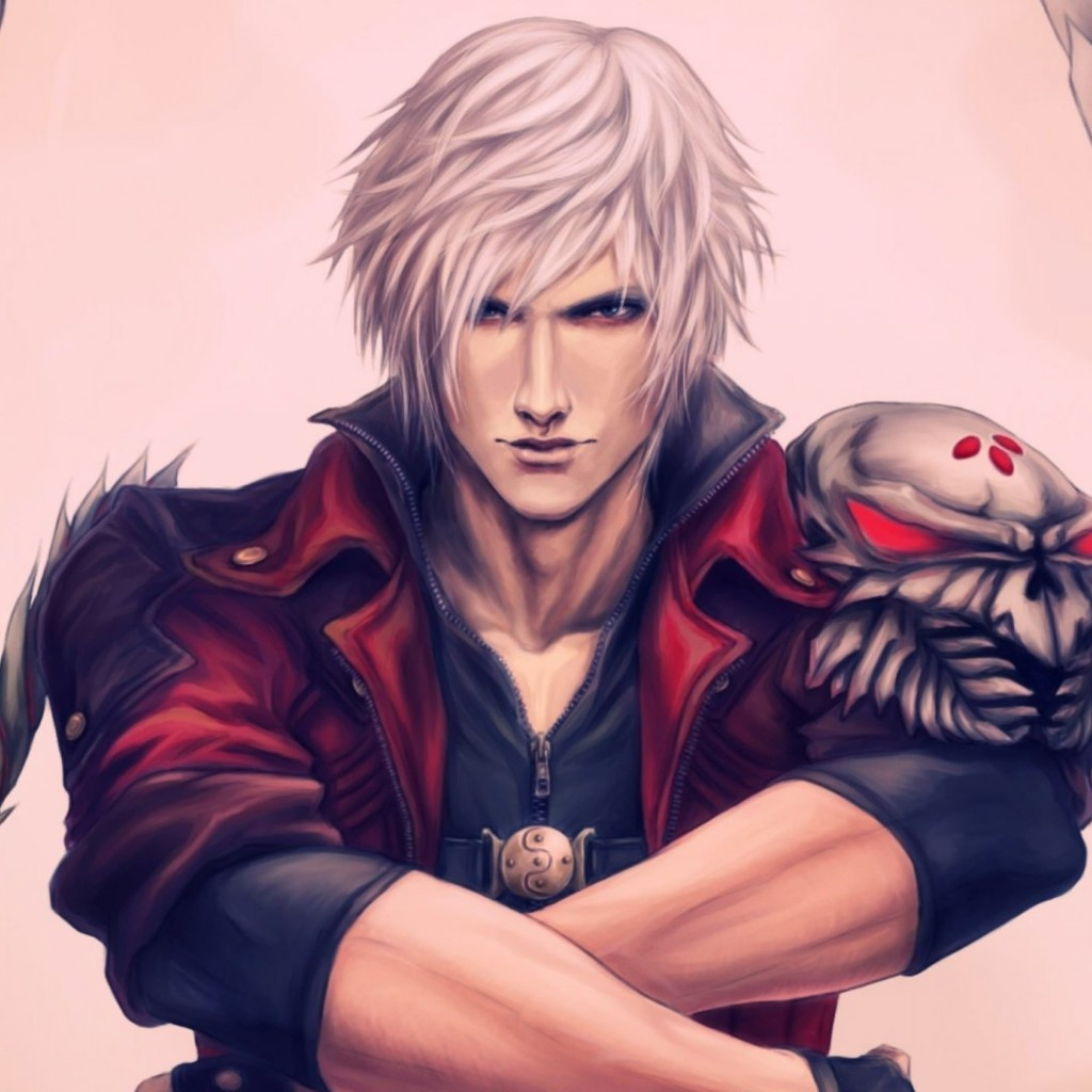 Dante - Devil May Cry Wallpaper for Apple iPad 2