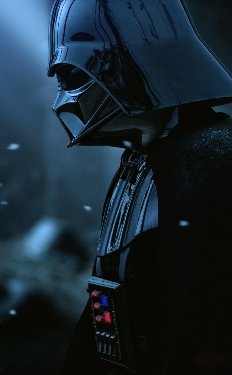 Darth Vader - The Force Unleashed 2 Wallpaper for Apple iPhone 4 / 4s