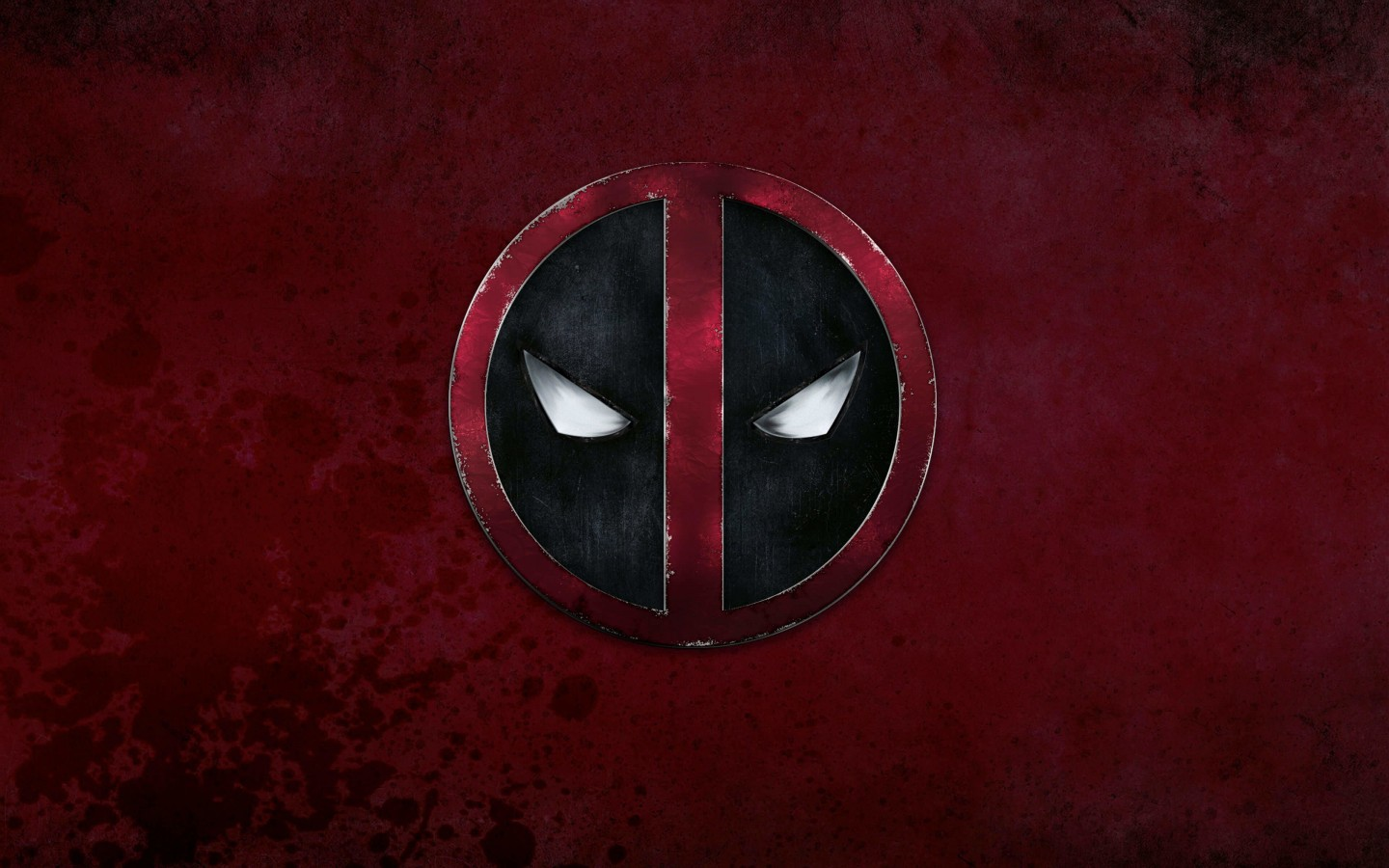 Deadpool Logo Wallpaper for Desktop 1440x900