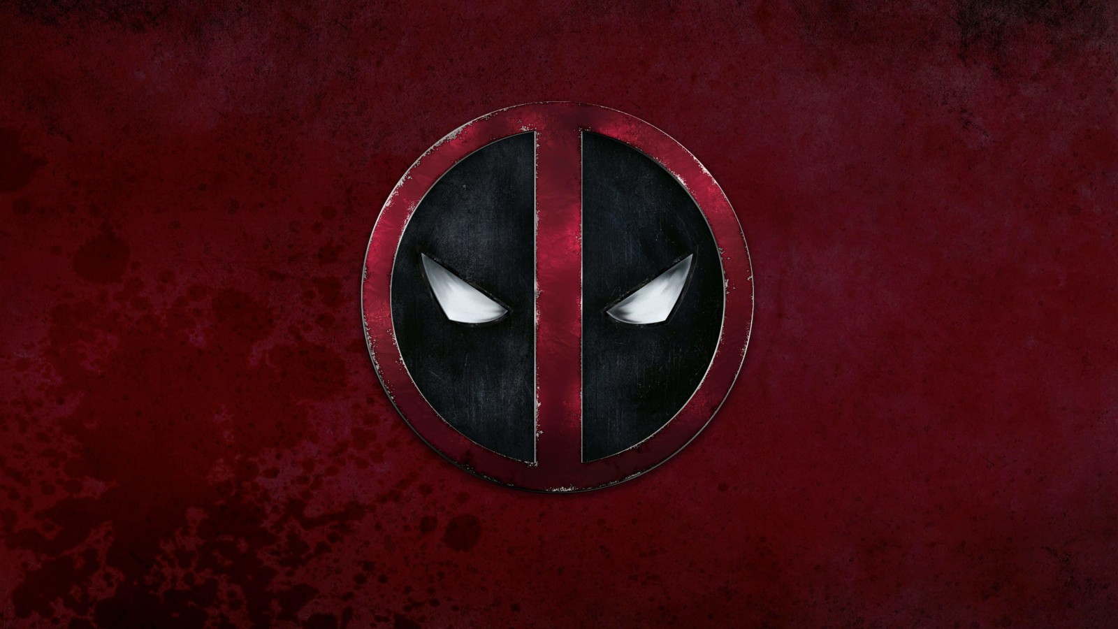 Deadpool Logo Wallpaper for Desktop 1600x900