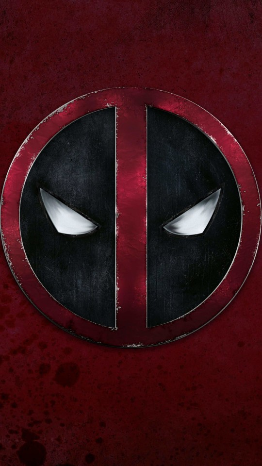 Deadpool Logo Wallpaper for SAMSUNG Galaxy S4 Mini