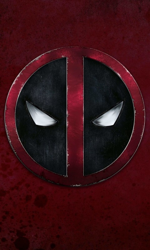 Deadpool Logo Wallpaper for HTC Desire HD