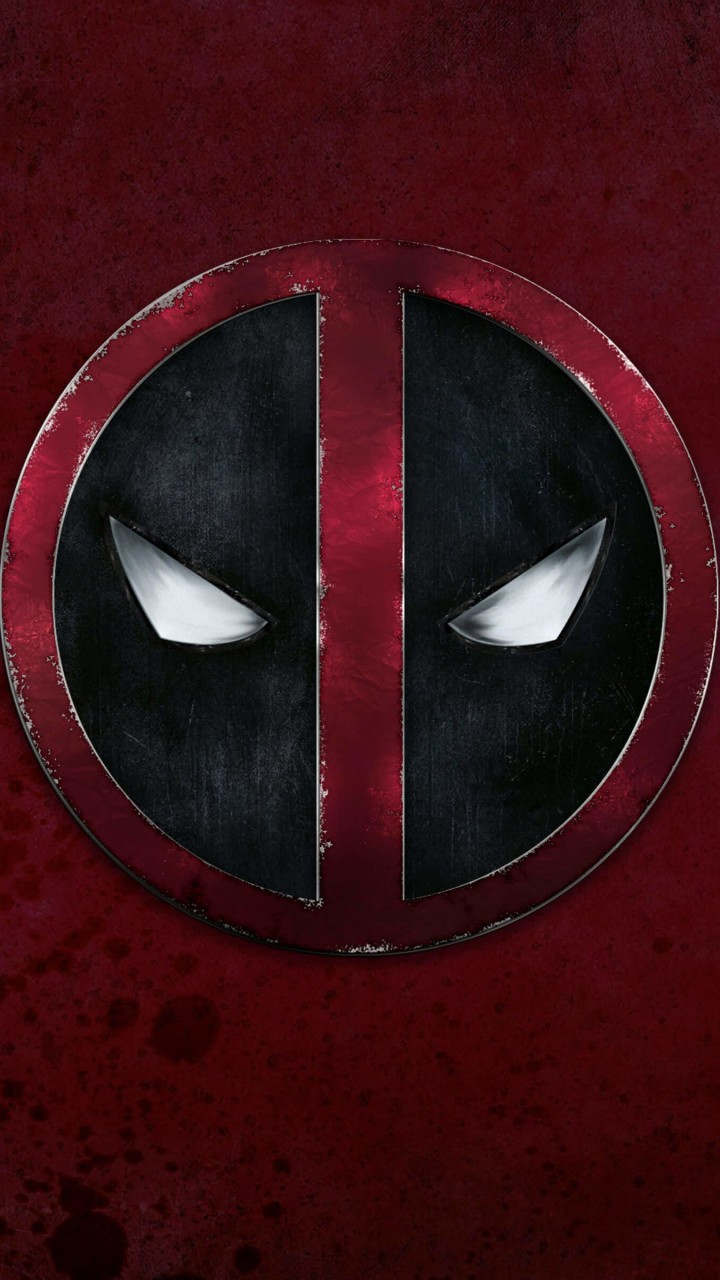 Deadpool Logo Wallpaper for HTC One mini
