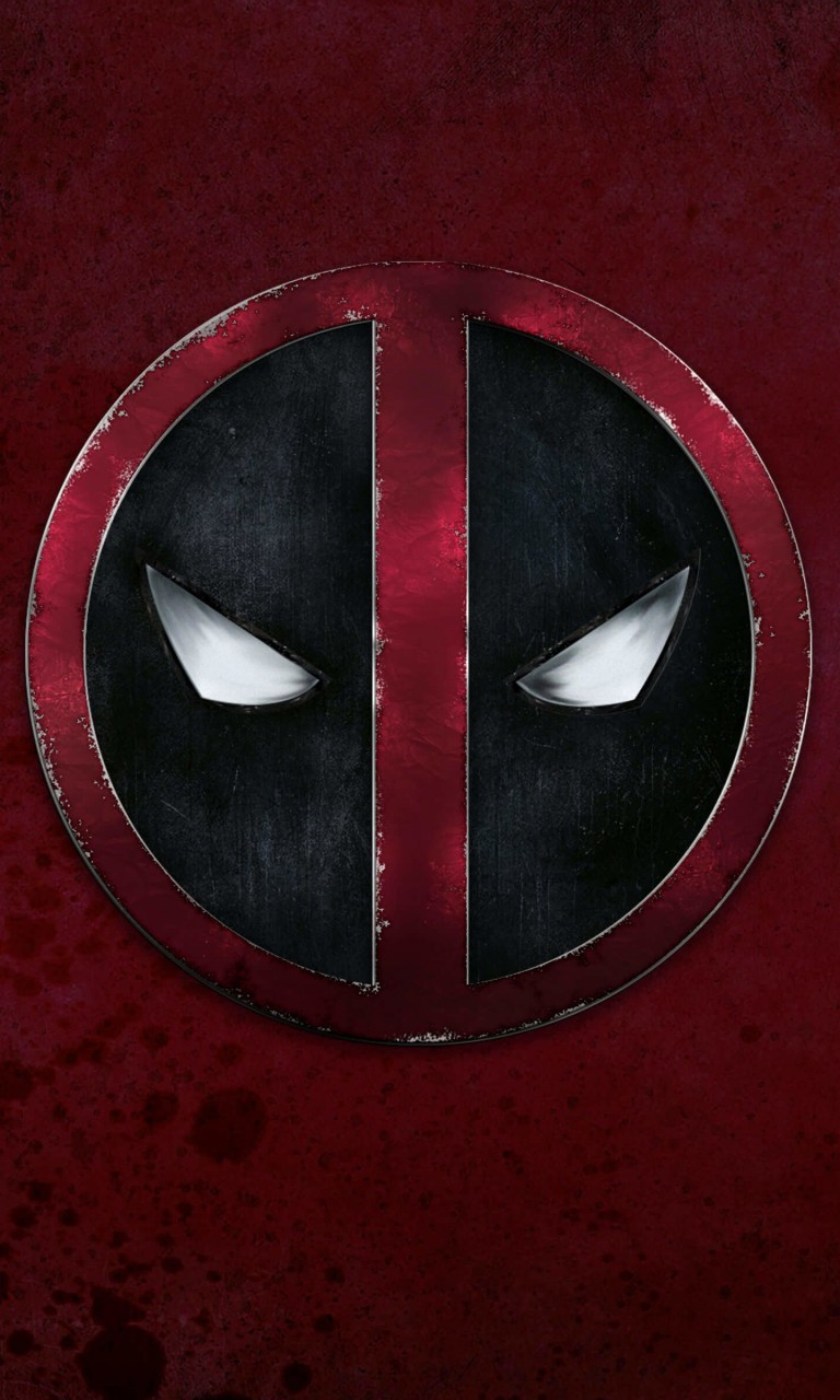 Deadpool Logo Wallpaper for LG Optimus G