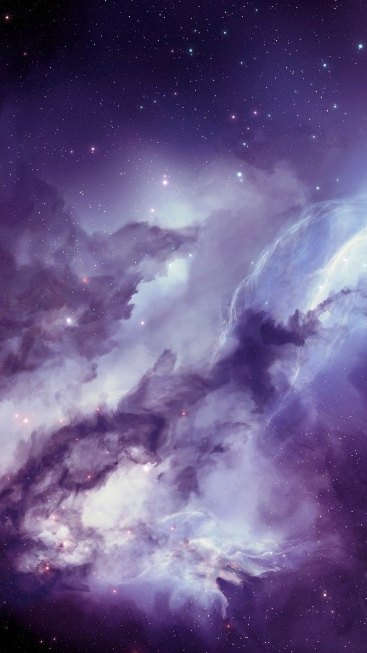 Deep Space Nebula Wallpaper for SAMSUNG Galaxy S5 Mini