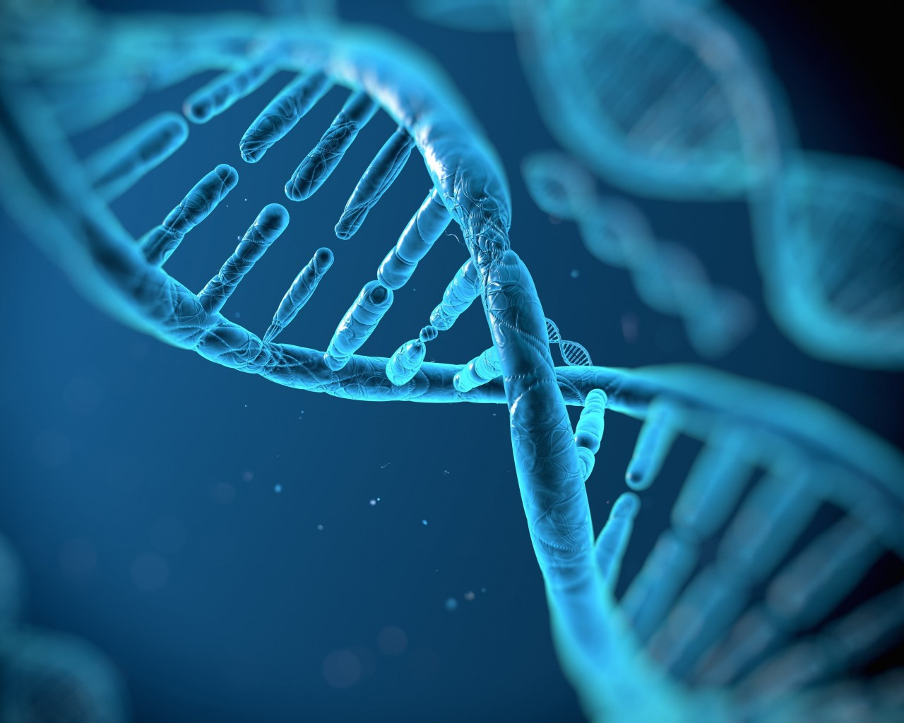 DNA Structure Wallpaper for Desktop 1280x1024