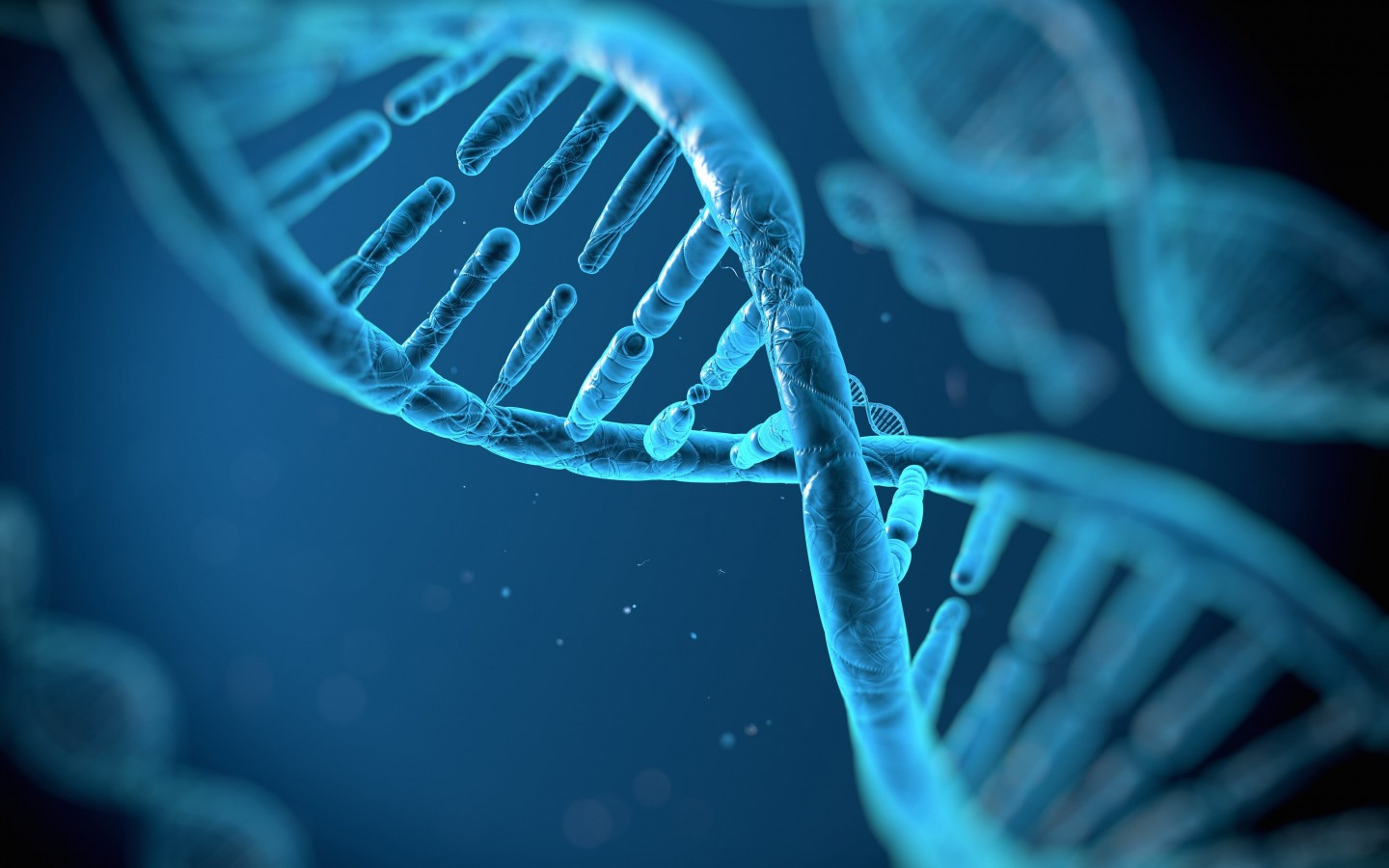 DNA Structure Wallpaper for Desktop 1440x900
