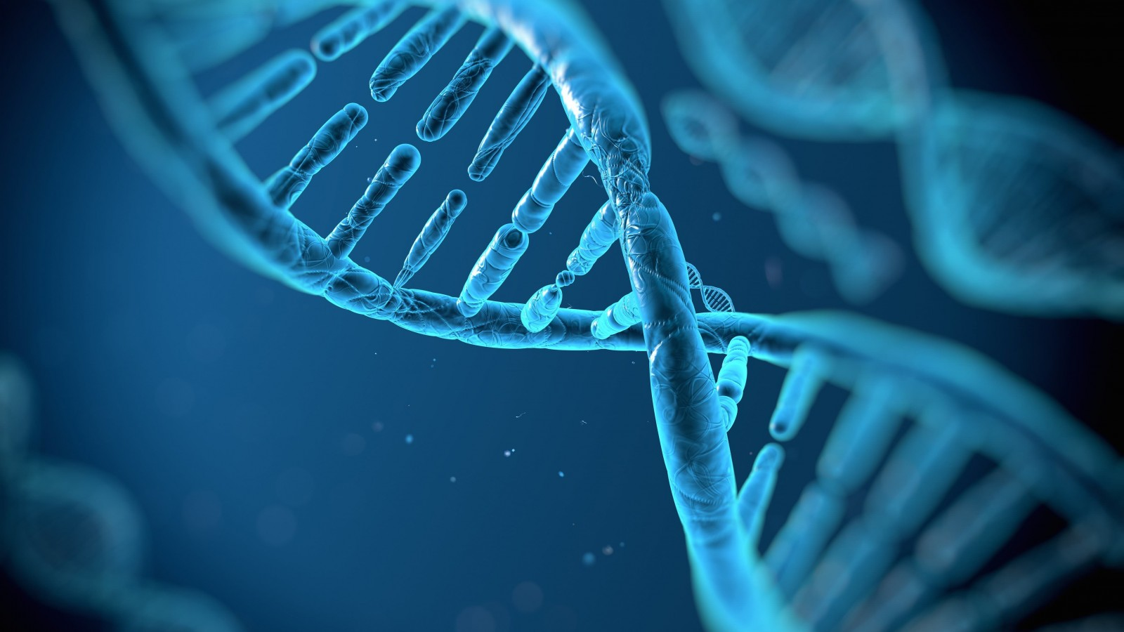 DNA Structure Wallpaper for Desktop 1600x900