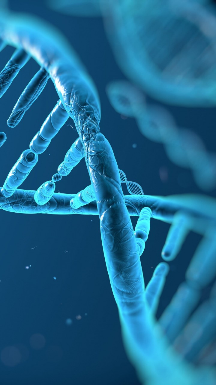DNA Structure Wallpaper for SAMSUNG Galaxy Note 2