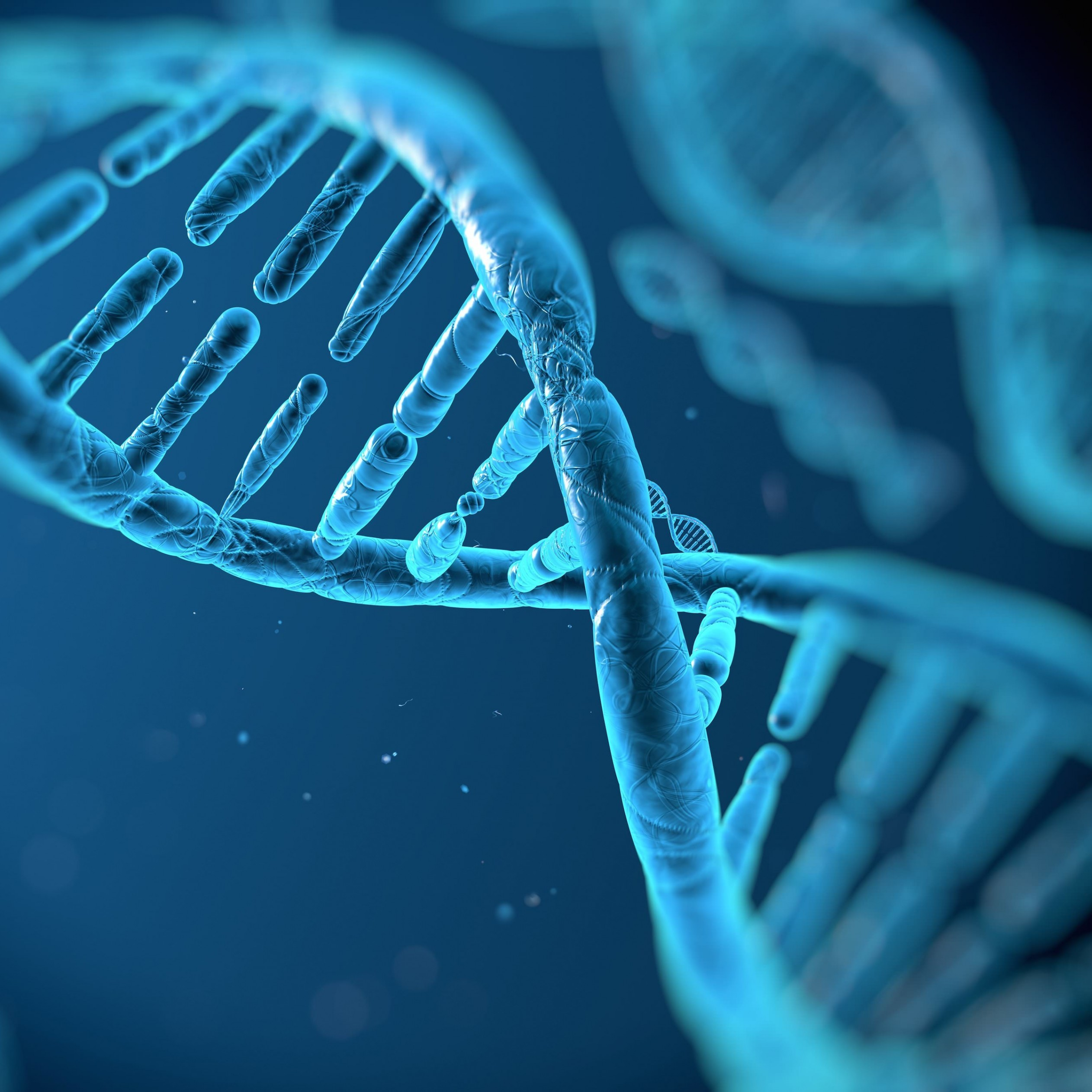DNA Structure Wallpaper for Apple iPad 3