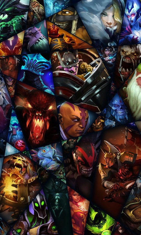 Dota 2 Wallpaper for SAMSUNG Galaxy S3 Mini