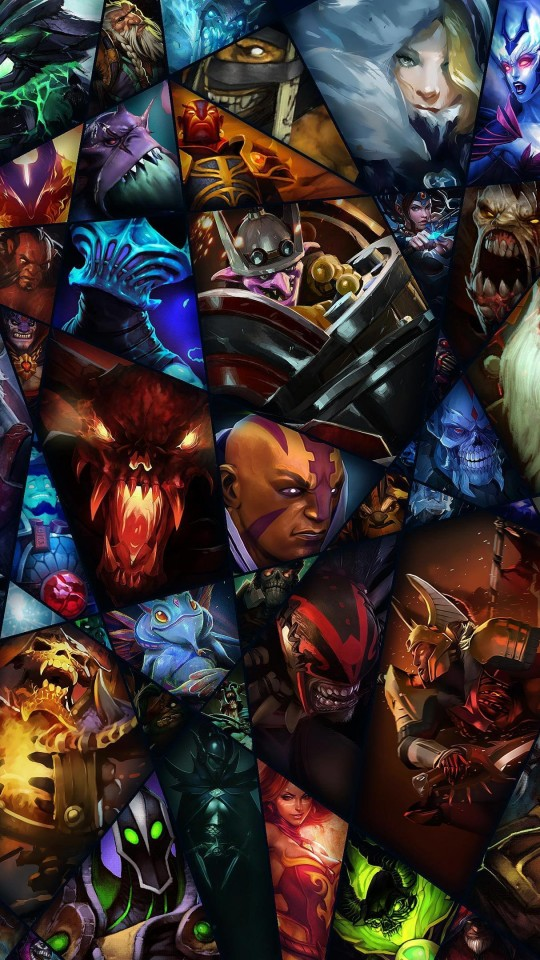 Dota 2 Wallpaper for SAMSUNG Galaxy S4 Mini