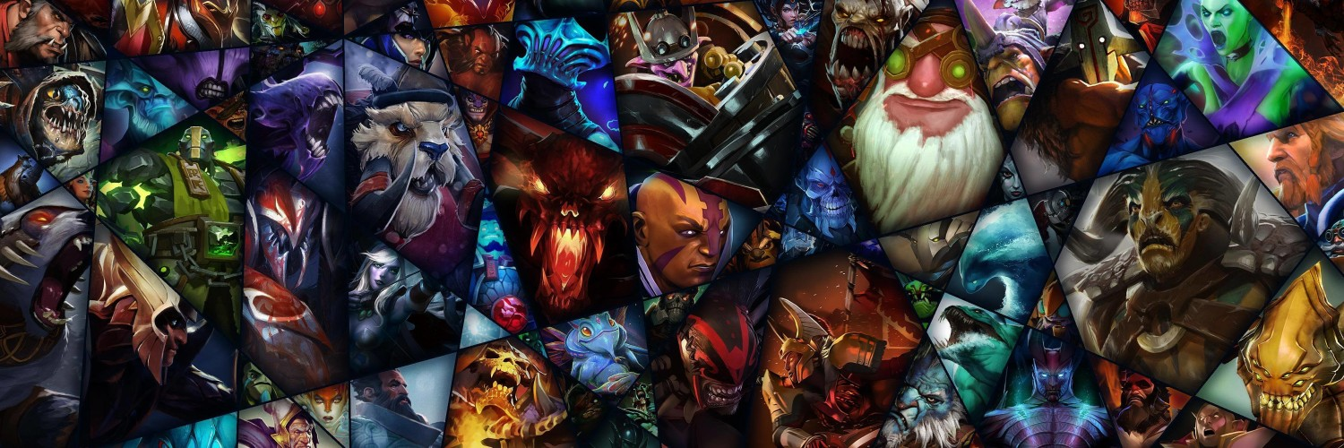 Dota 2 Wallpaper for Social Media Twitter Header