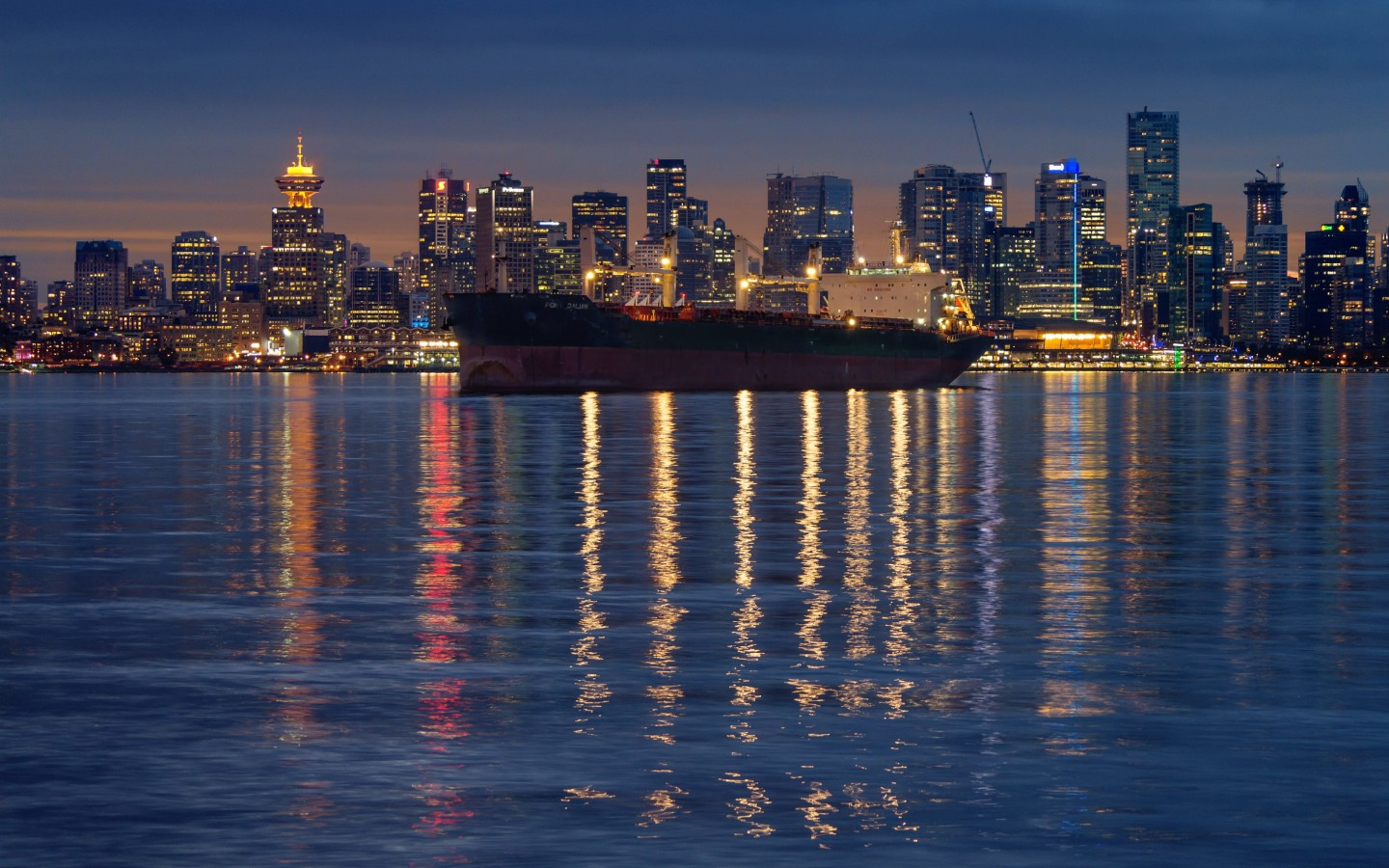 Downtown Vancouver, Canada Wallpaper for Desktop 1440x900