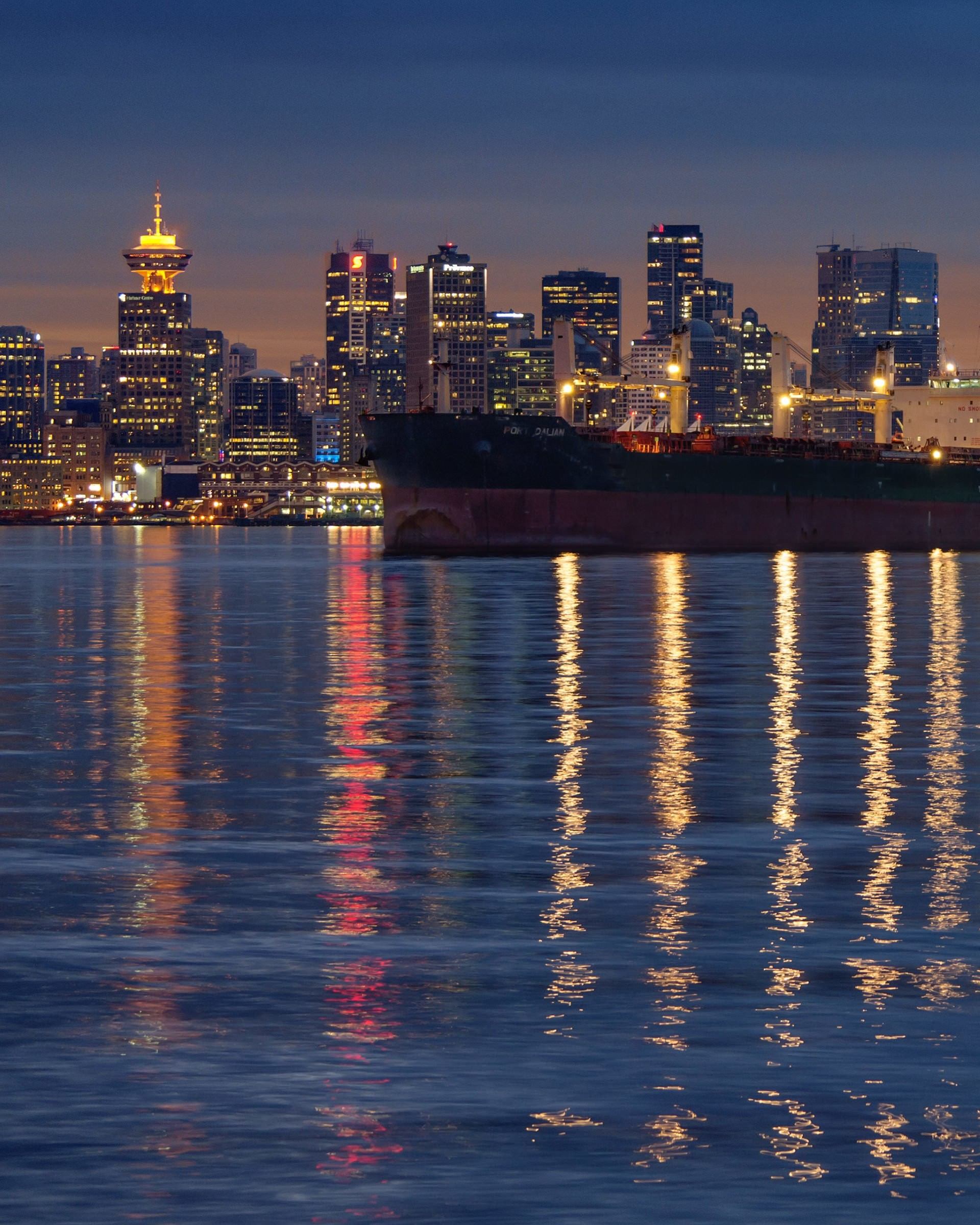 Downtown Vancouver, Canada Wallpaper for Google Nexus 7