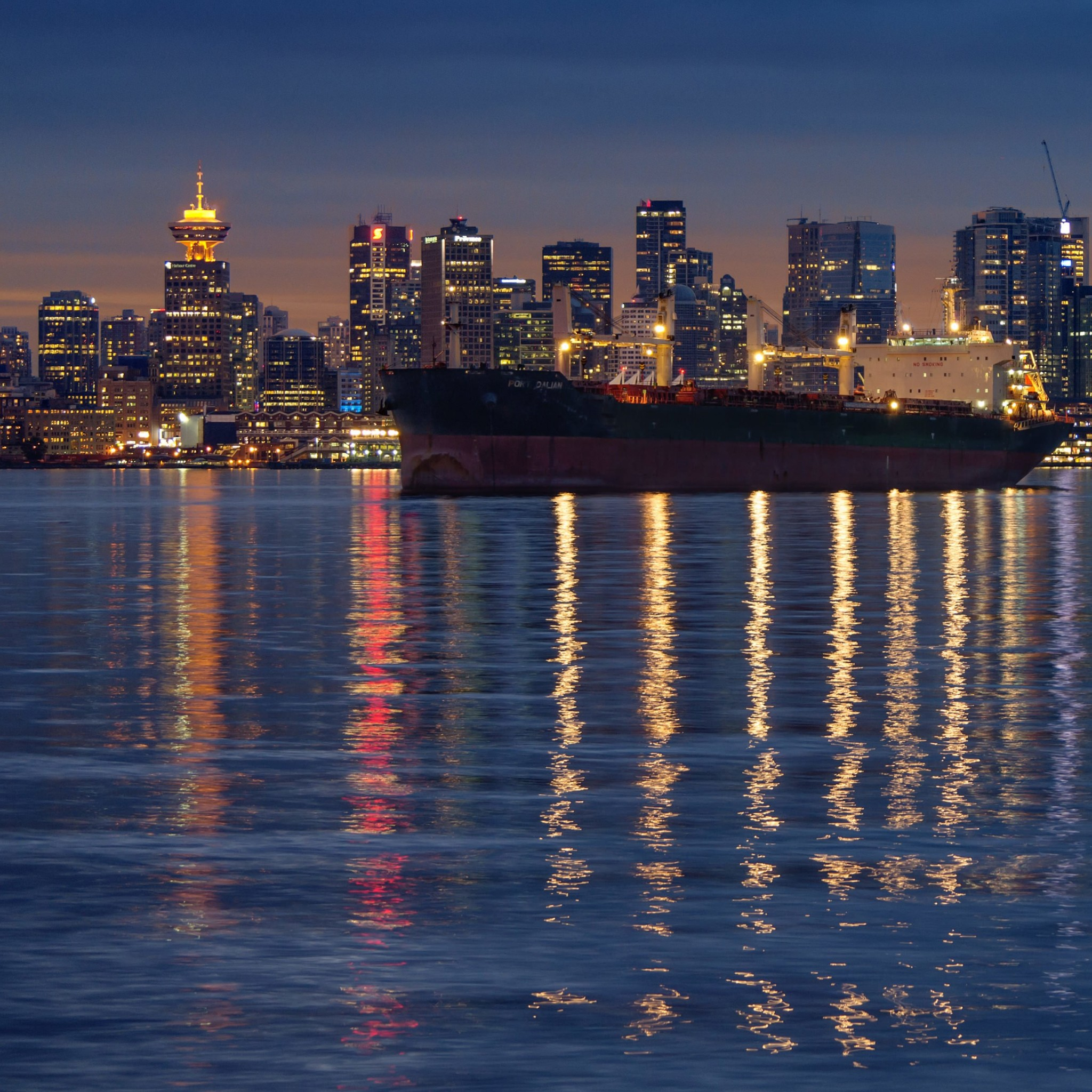 Downtown Vancouver, Canada Wallpaper for Google Nexus 9