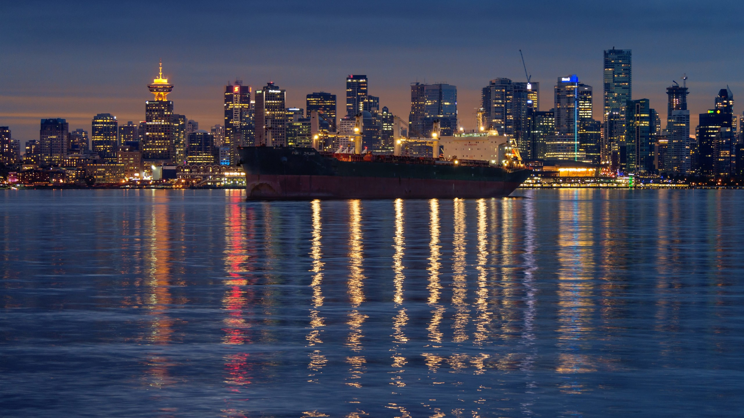 Downtown Vancouver, Canada Wallpaper for Social Media YouTube Channel Art