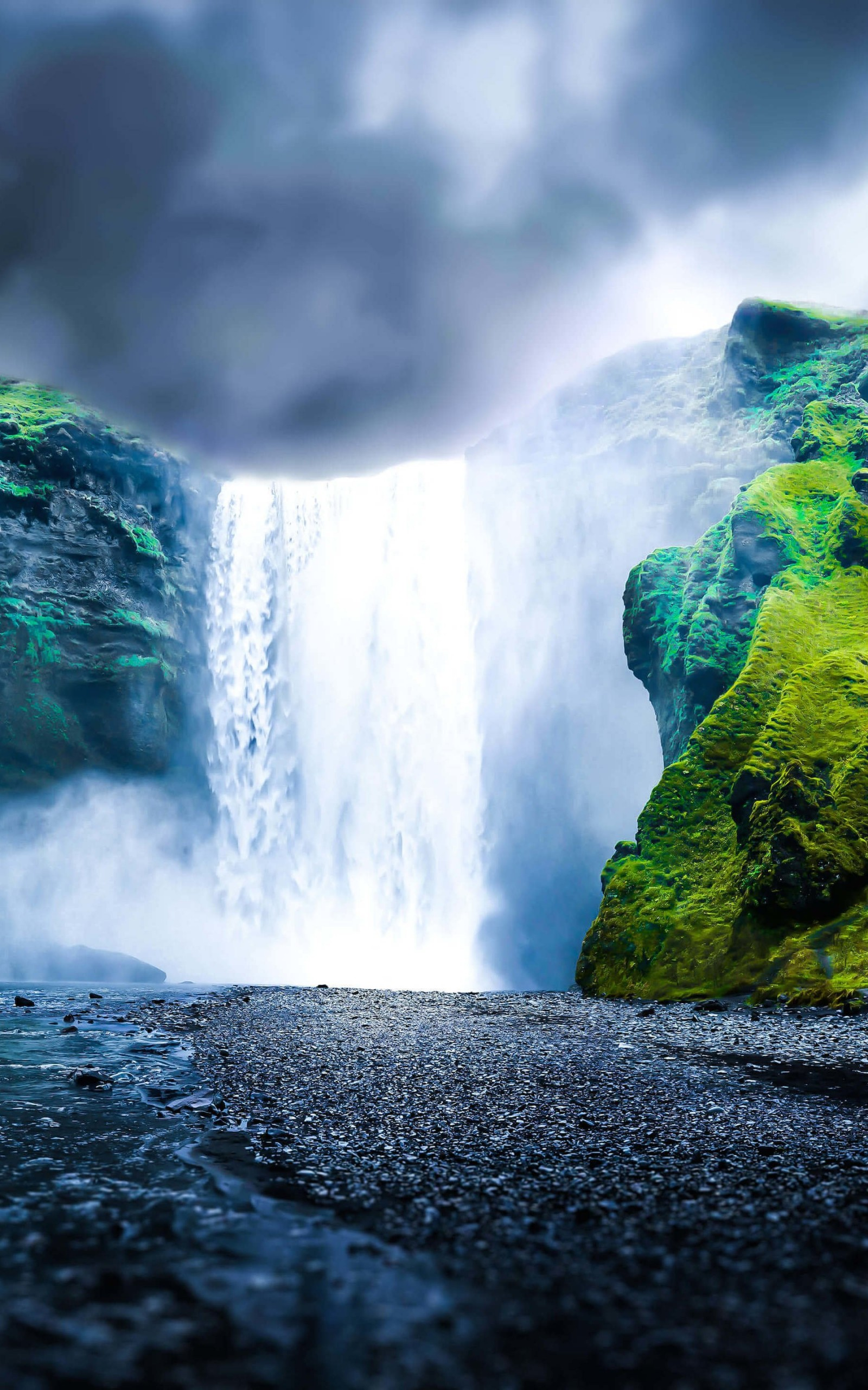download dreamy waterfall hd wallpaper for kindle fire hdx