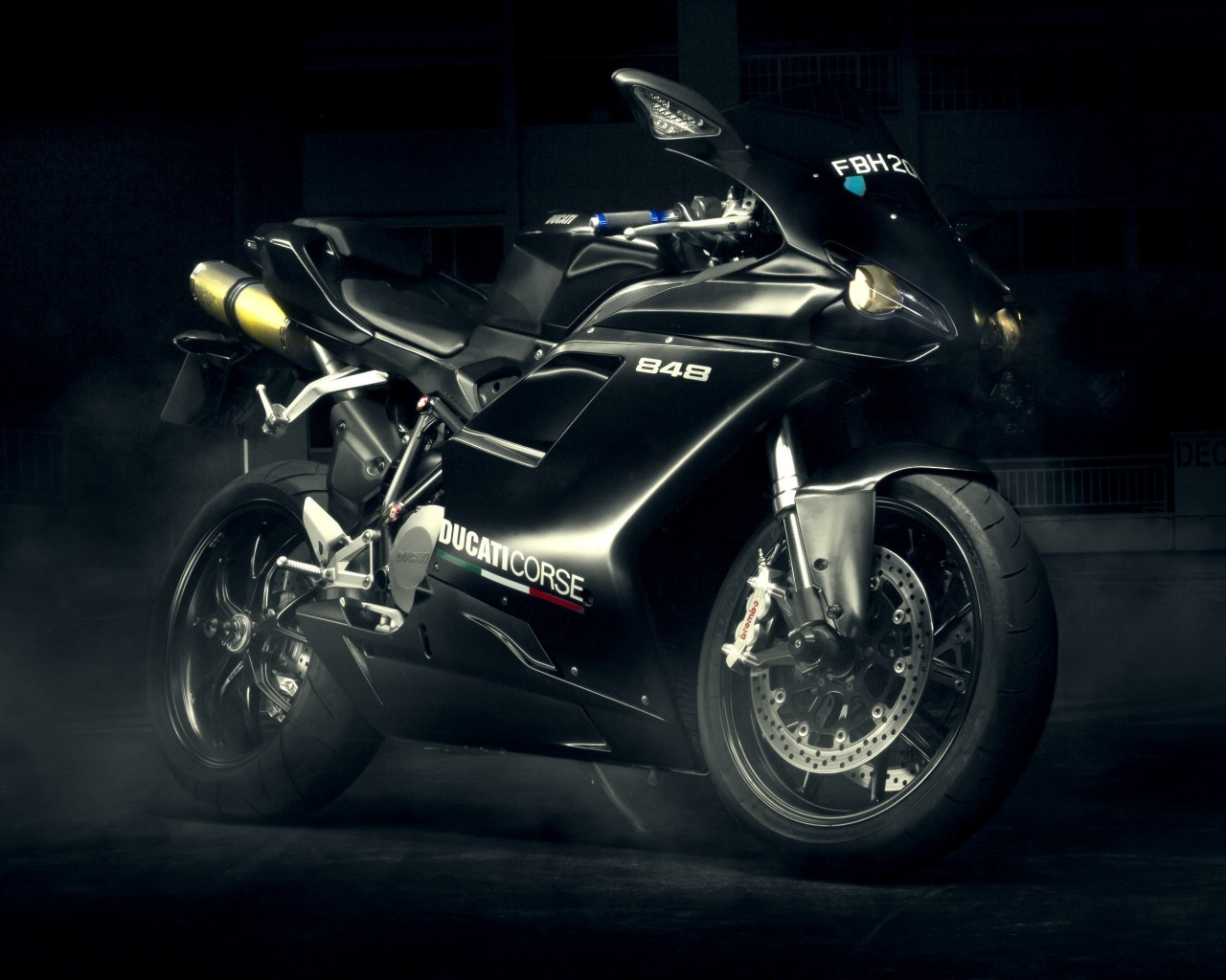 Ducati 848 Wallpaper for Desktop 1280x1024