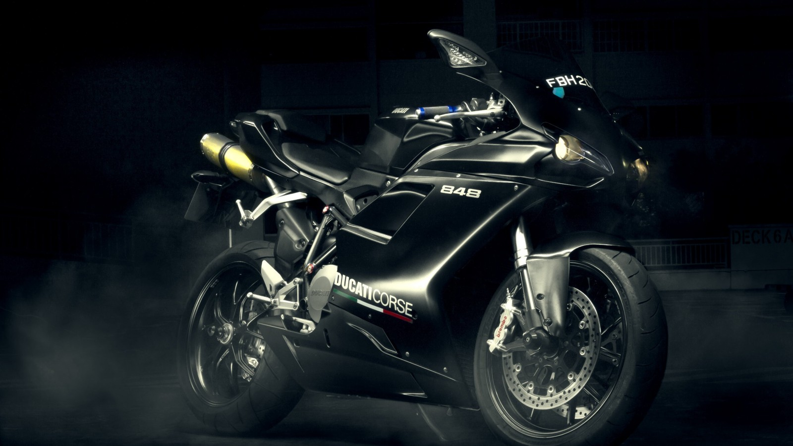Ducati 848 Wallpaper for Desktop 1600x900