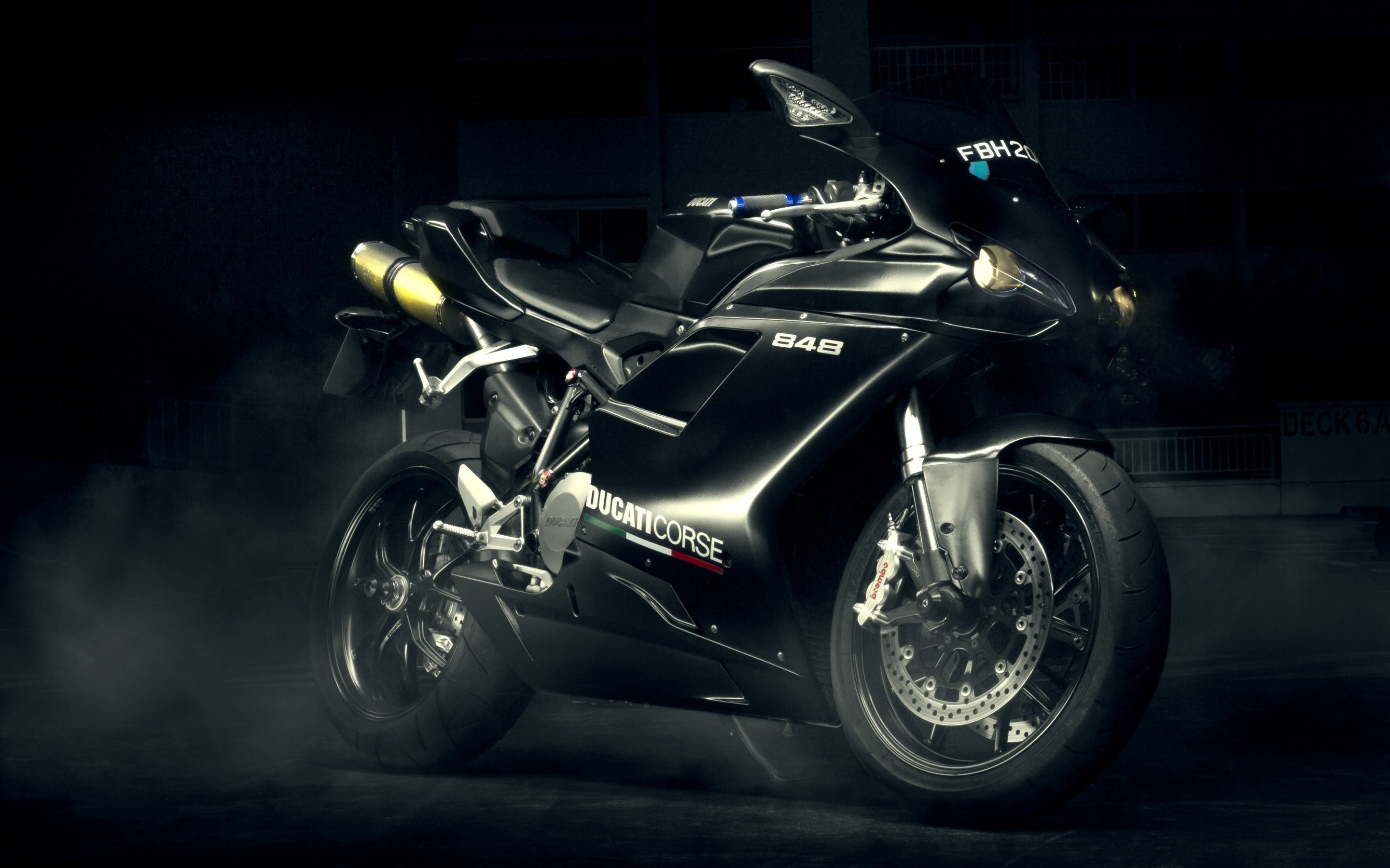 Ducati 848 Wallpaper for Desktop 2880x1800