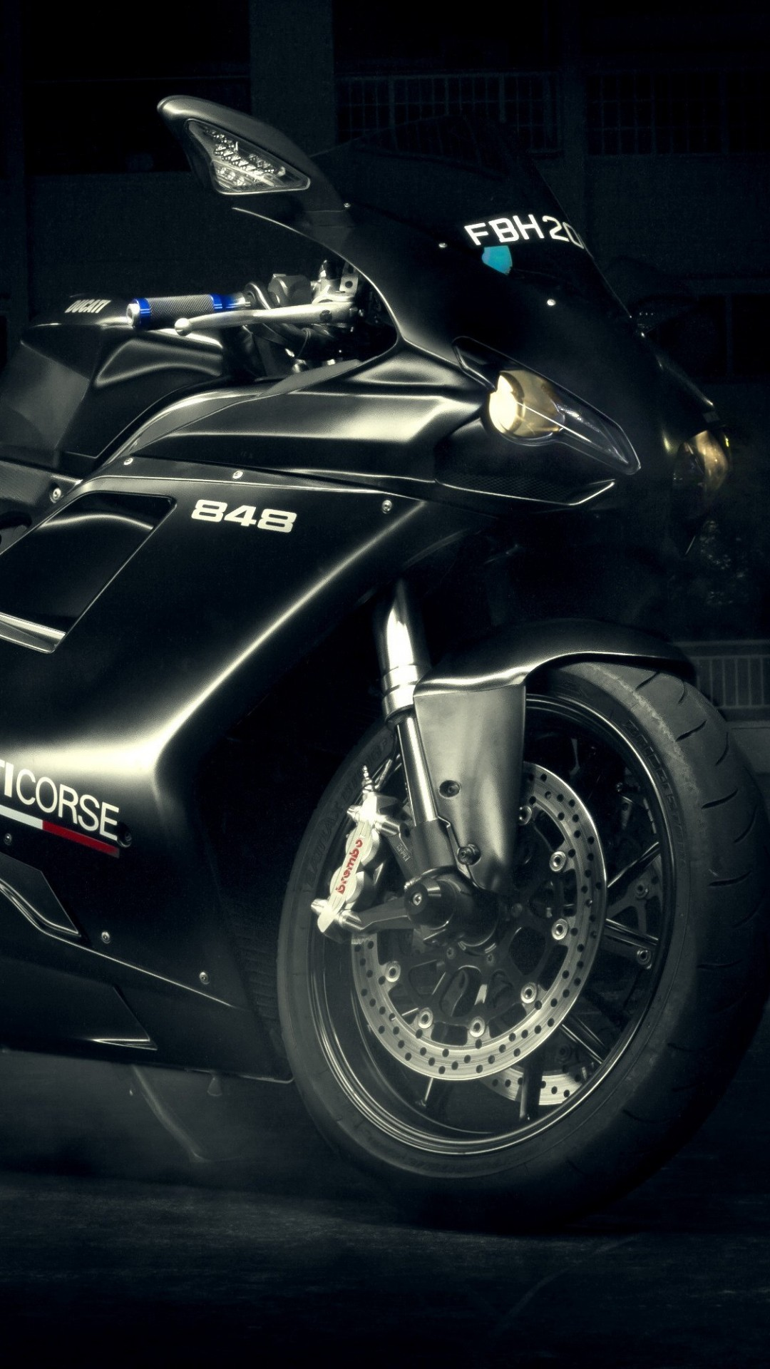 Ducati 848 Wallpaper for HTC One