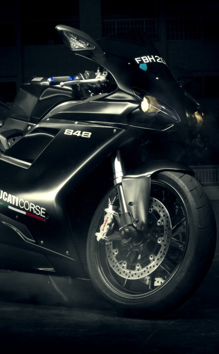 Ducati 848 Wallpaper for Apple iPhone 4 / 4s
